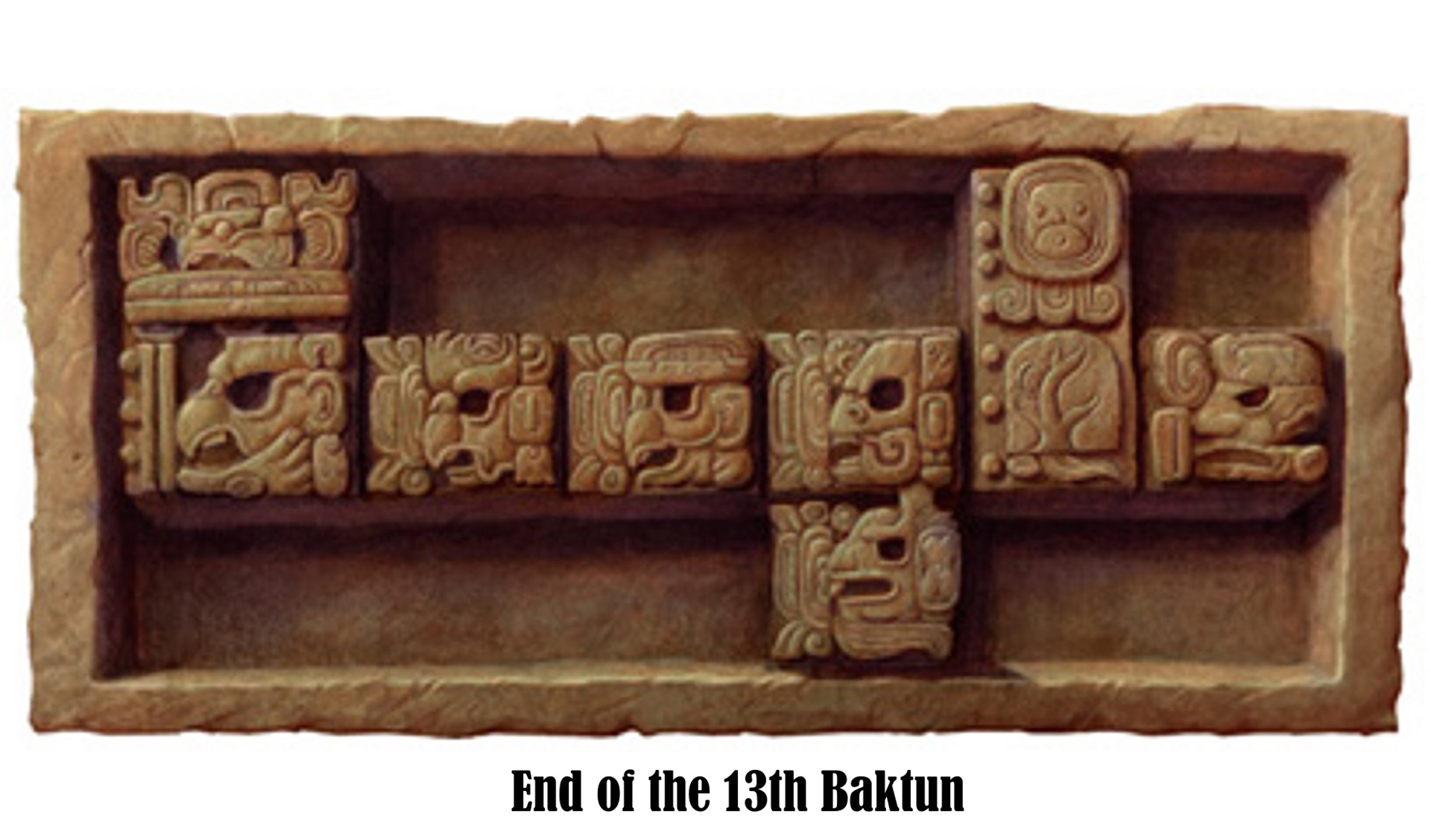 End of the 13th Baktun
