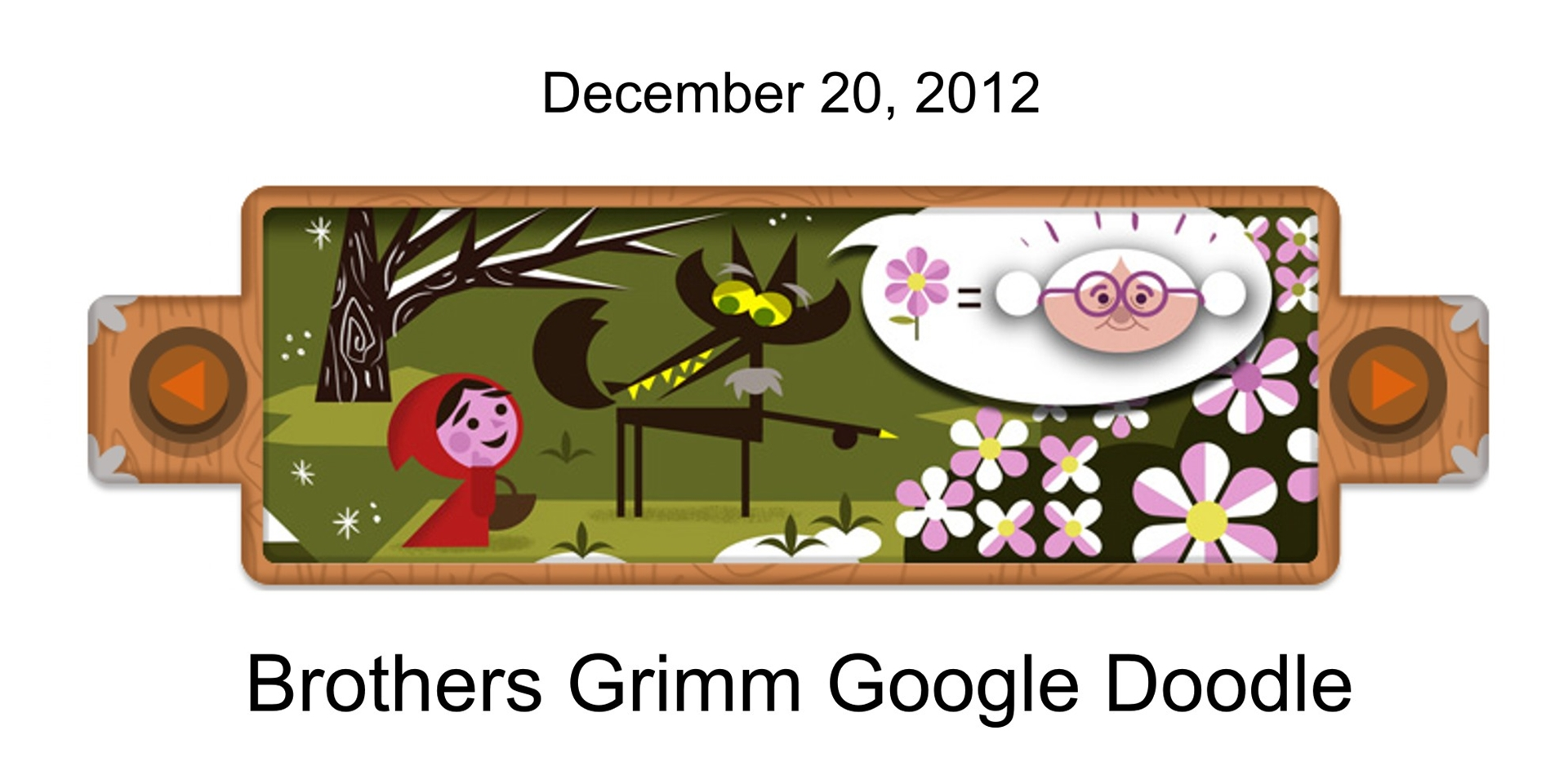 Google Doodle Brothers Grimm