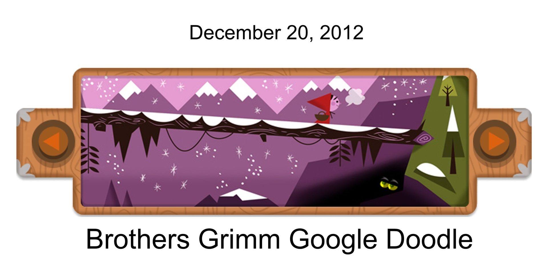 How Does The Brothers Grimm Google Doodle Work