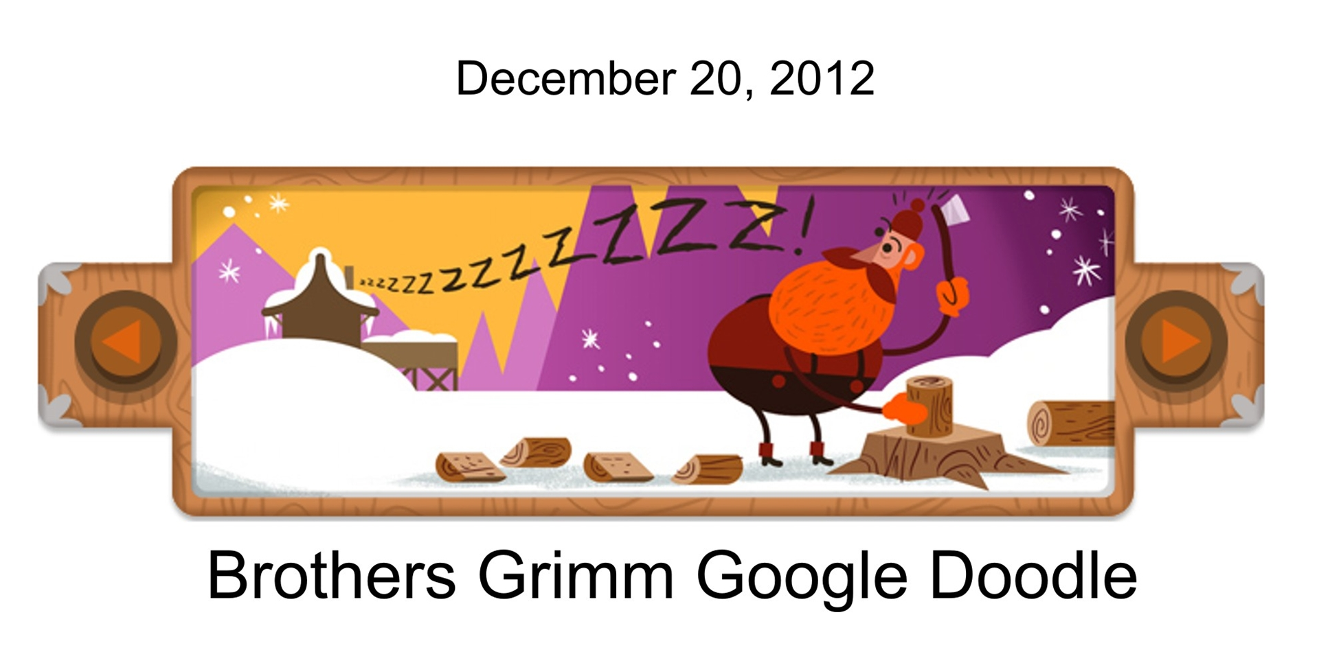 Red Riding Hood Google Doodle