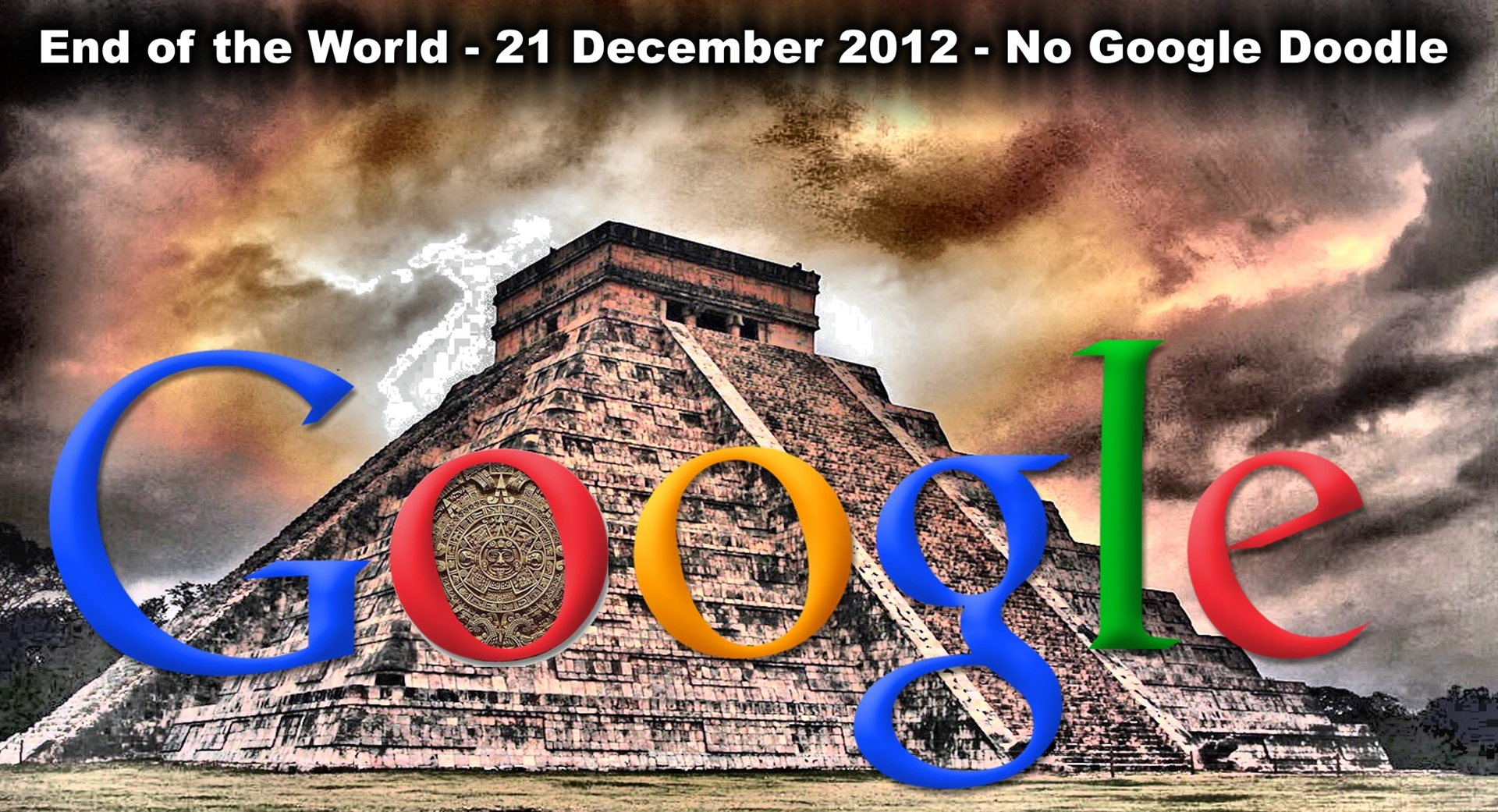 end of the world Google Doodle