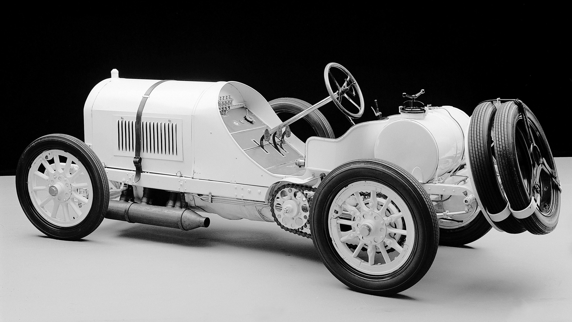 Classic Mercedes Benz Race Car
