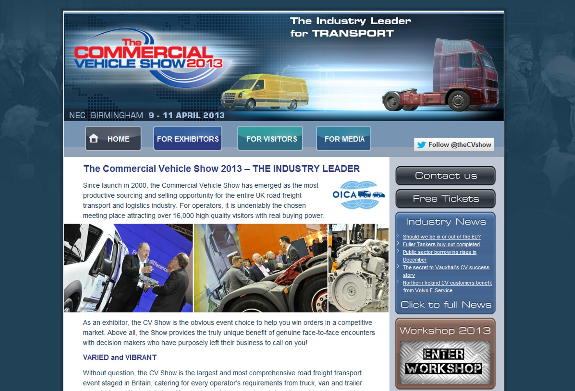 Commercial Vehicle Show 2013