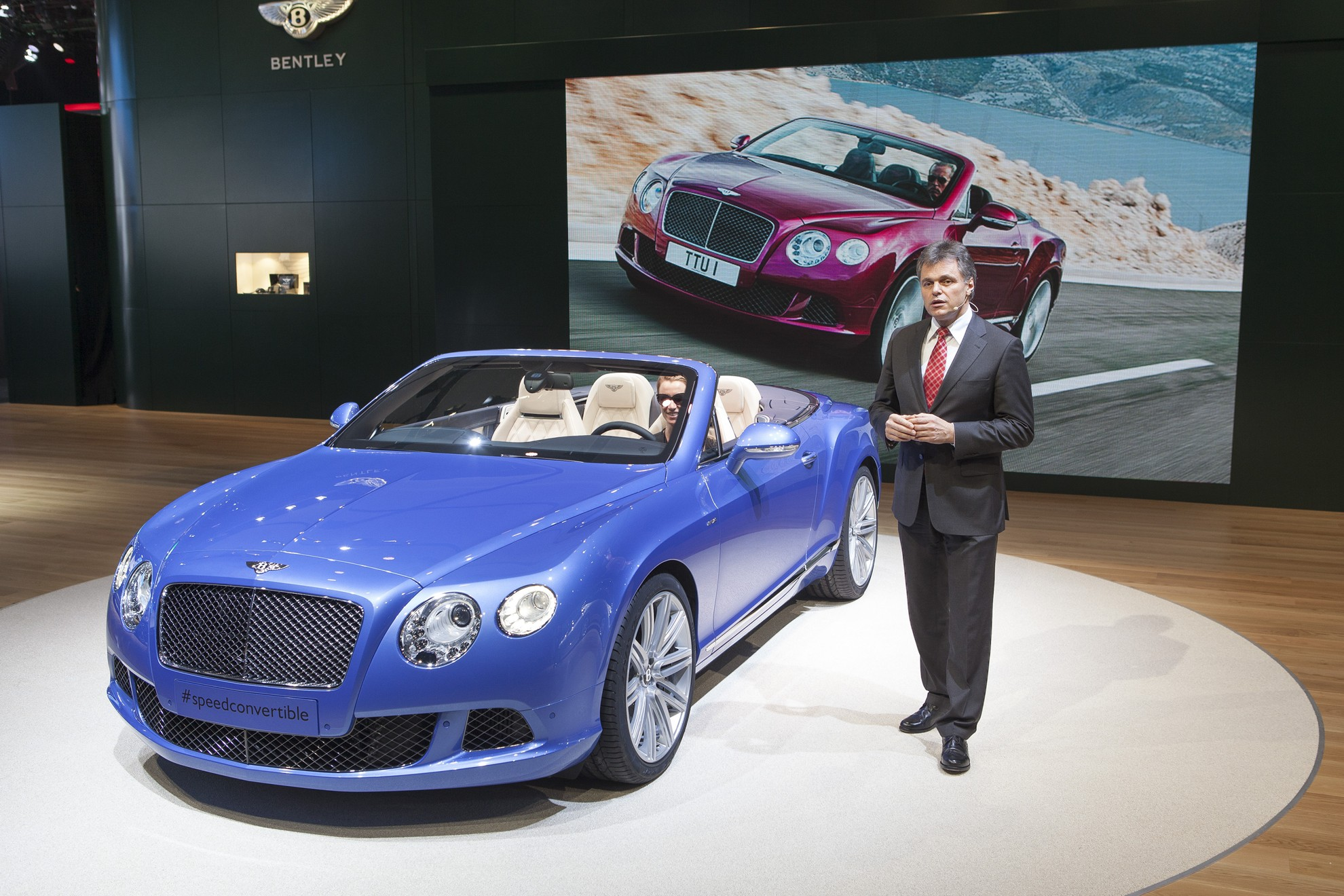 Detroit Auto Show Bentley