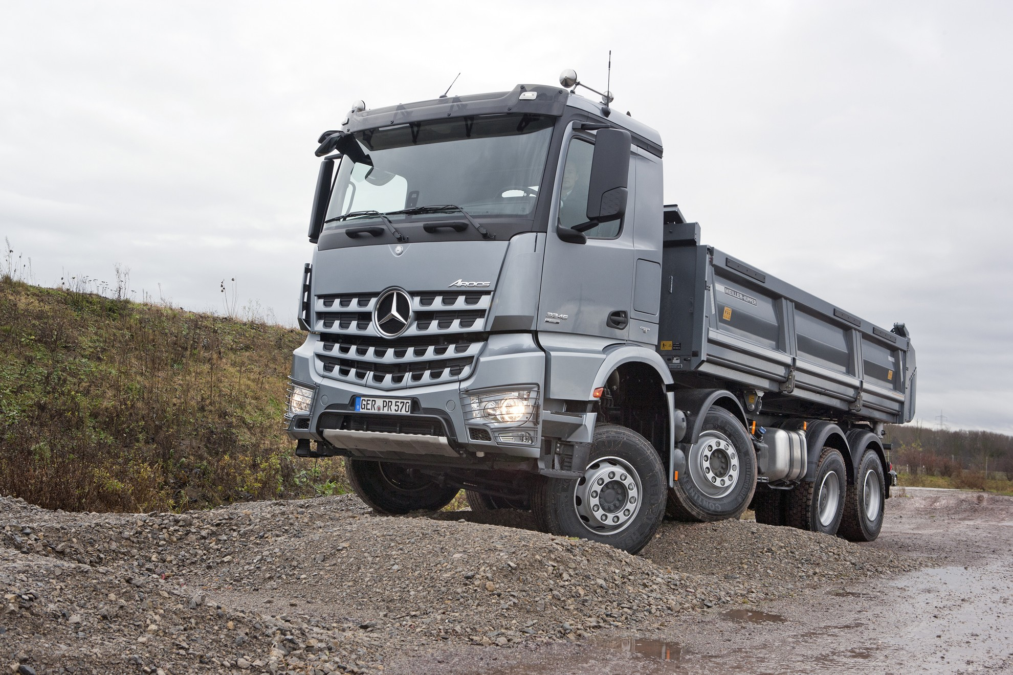 Mercedes-Benz Arocs Trucks
