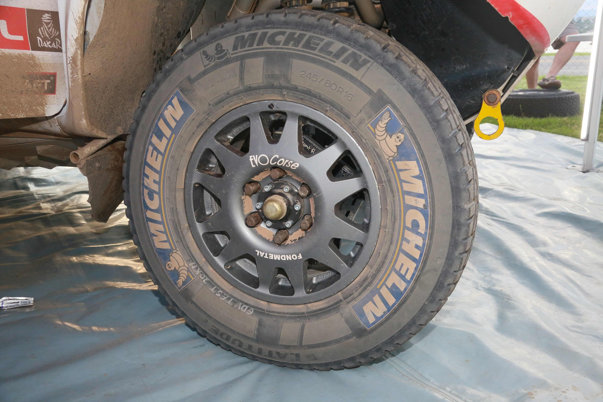 Toyota Hilux Tyre