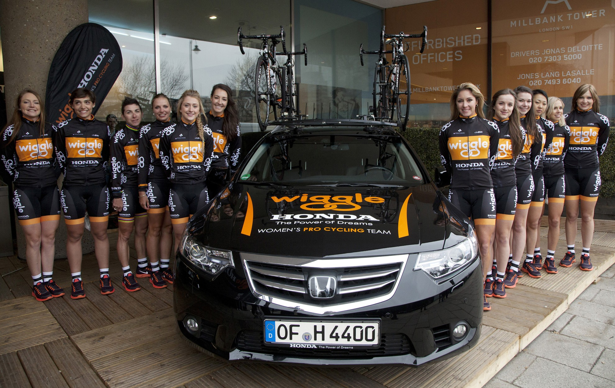 Wiggle Honda Women Pro Cycling Team