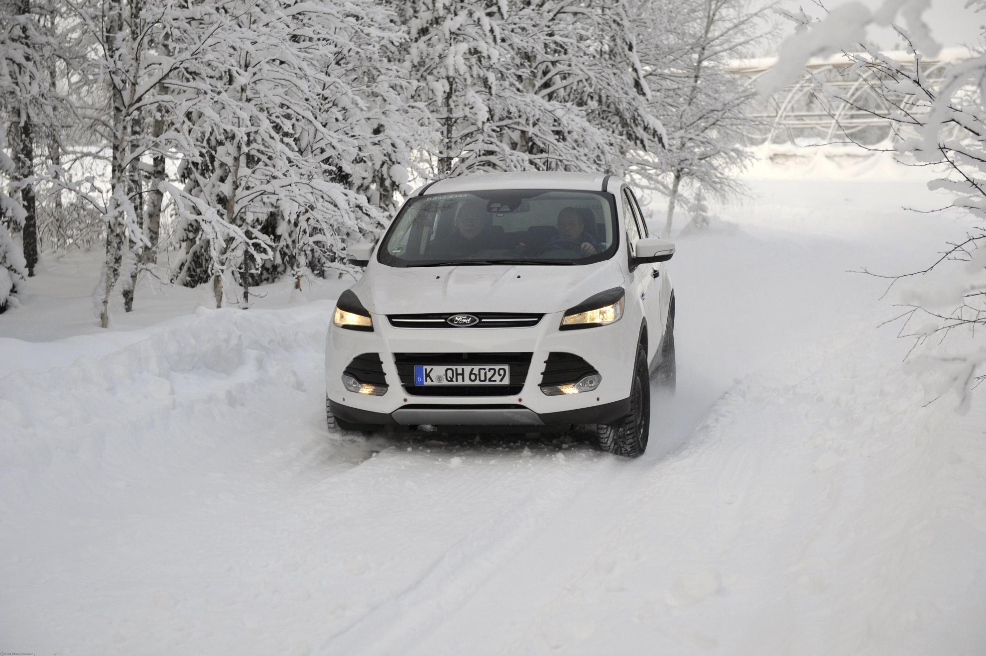 Ford winter driving