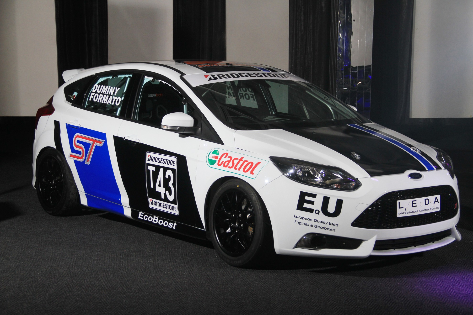 3d car shows ford south africa motorsport and racing 2013 for Ford motor company truck division