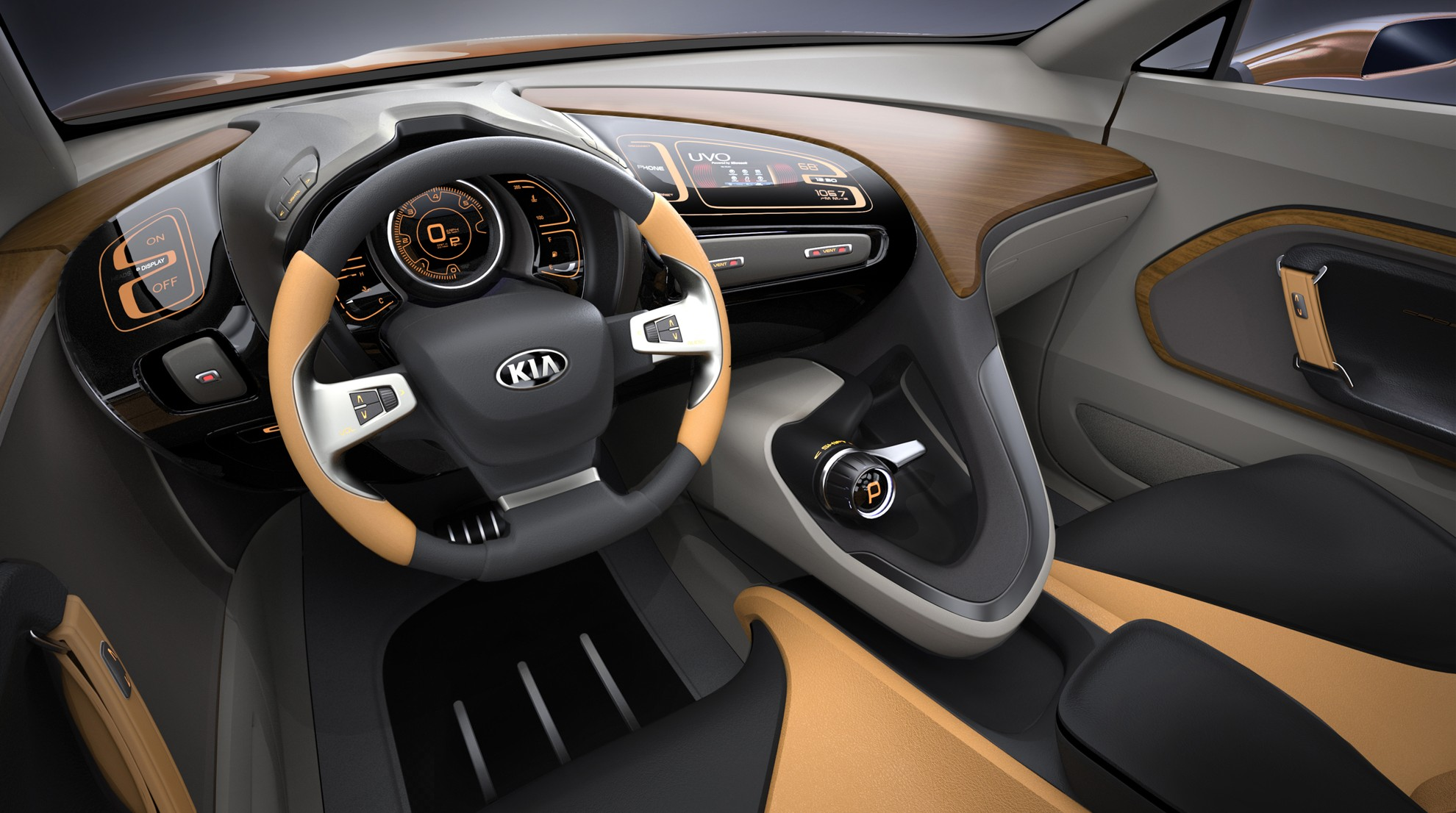 KIA Concept Car Inside
