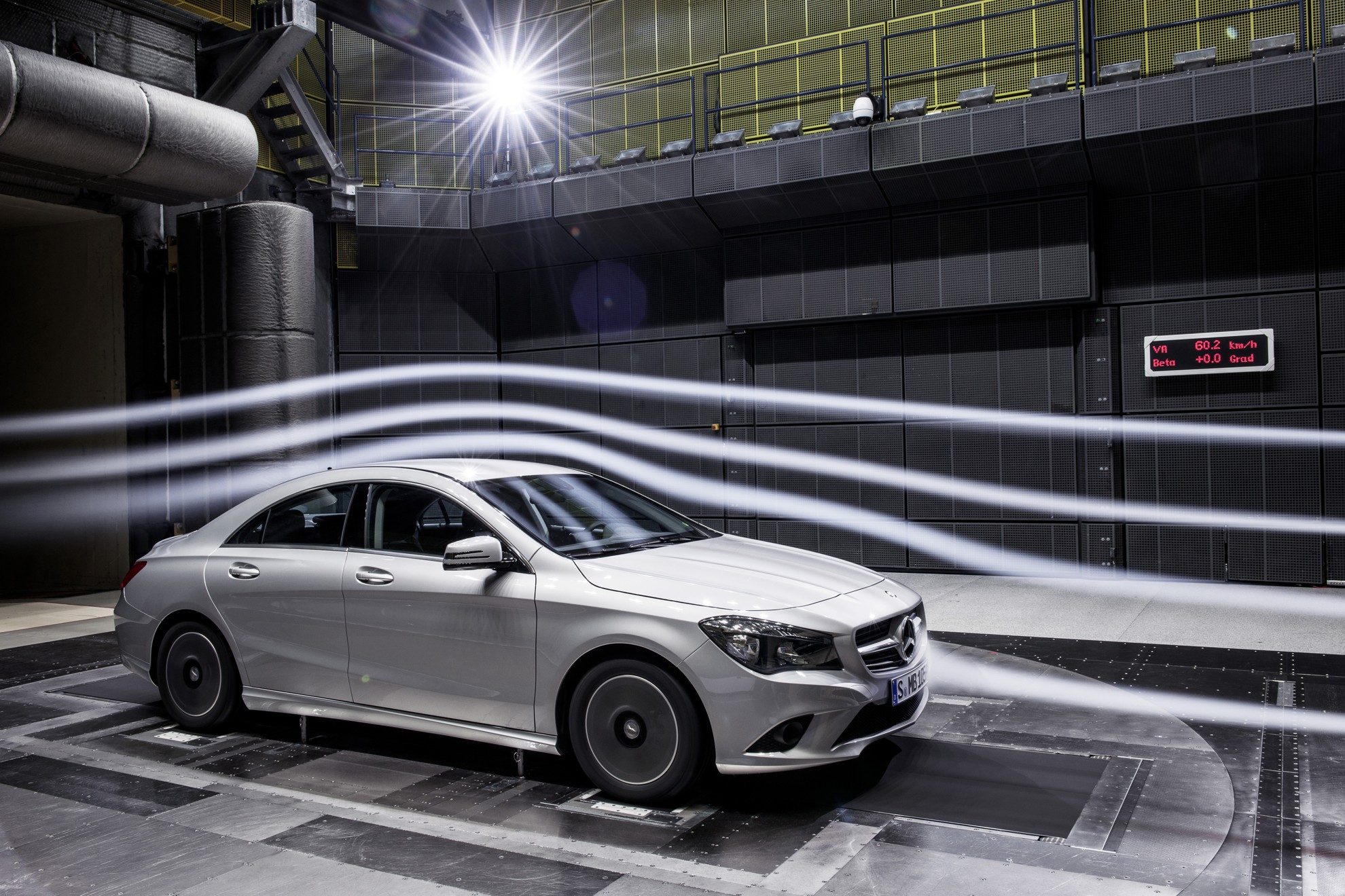 Mercedes Benz CLA Aerodynamics