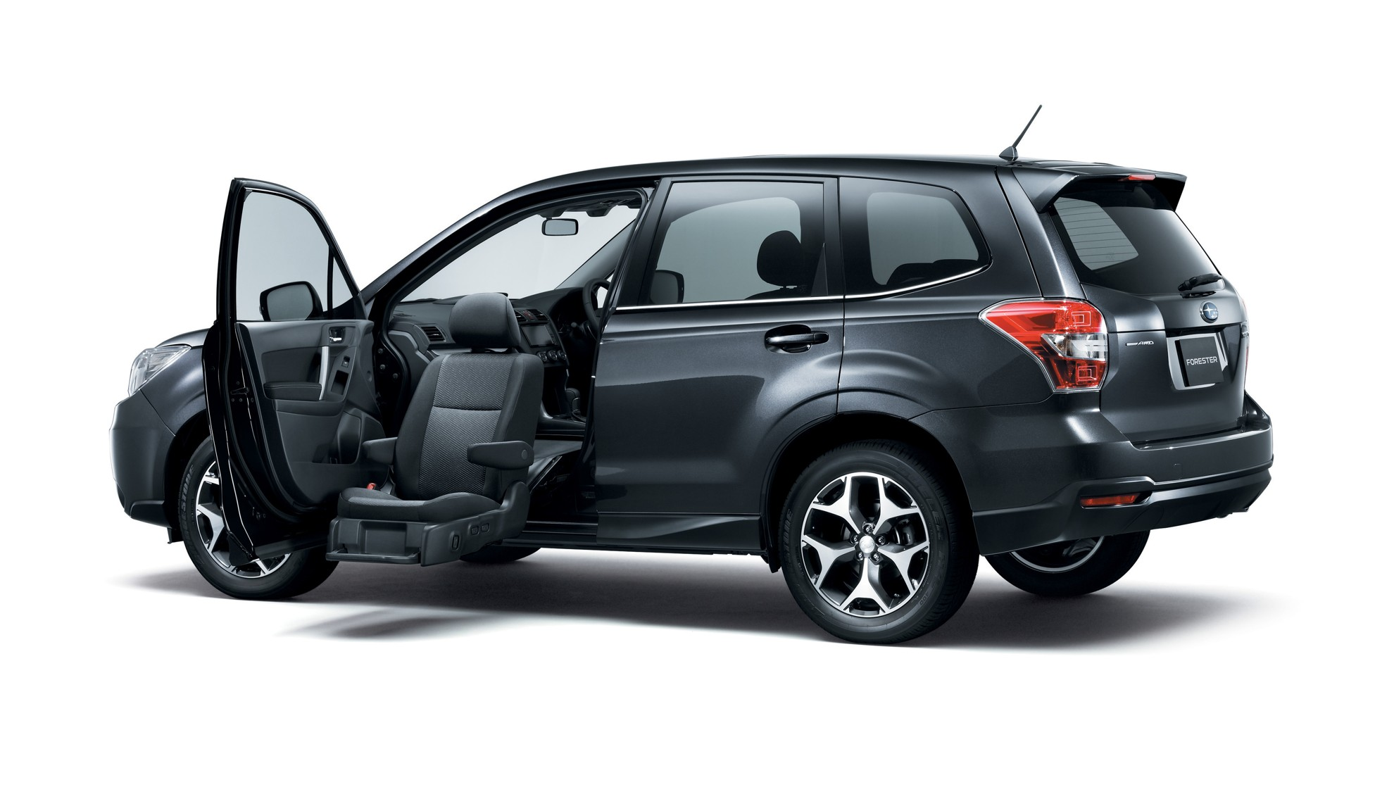 Practical design for the most user-friendly Forester ever Convenience