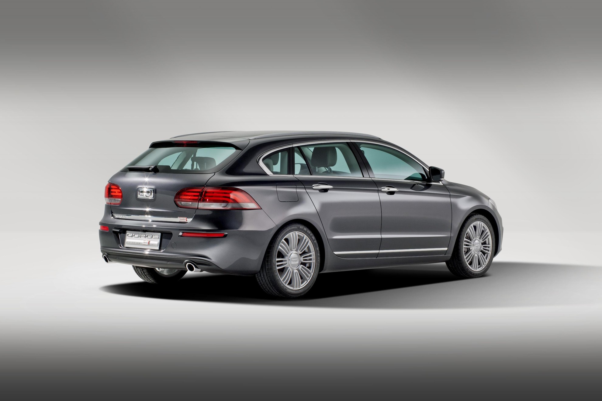 Qoros 3 Estate Concept 2013