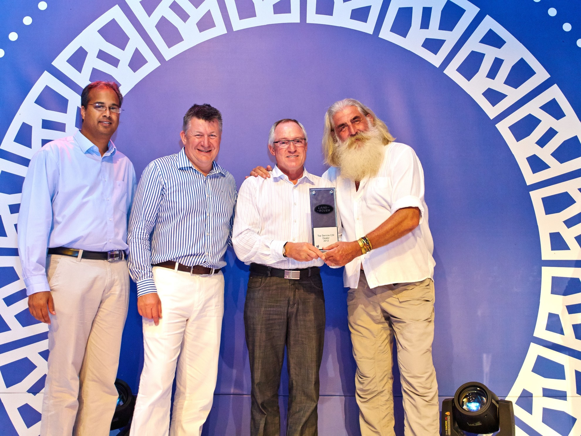 Top Service CSI Dealer of the Year 2012