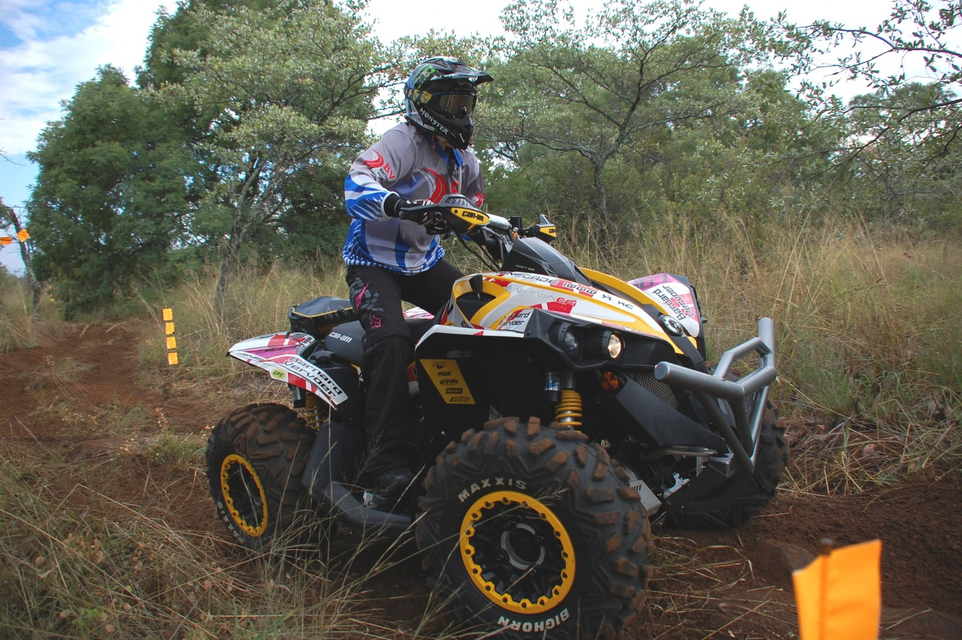 Off-road Quad Bike