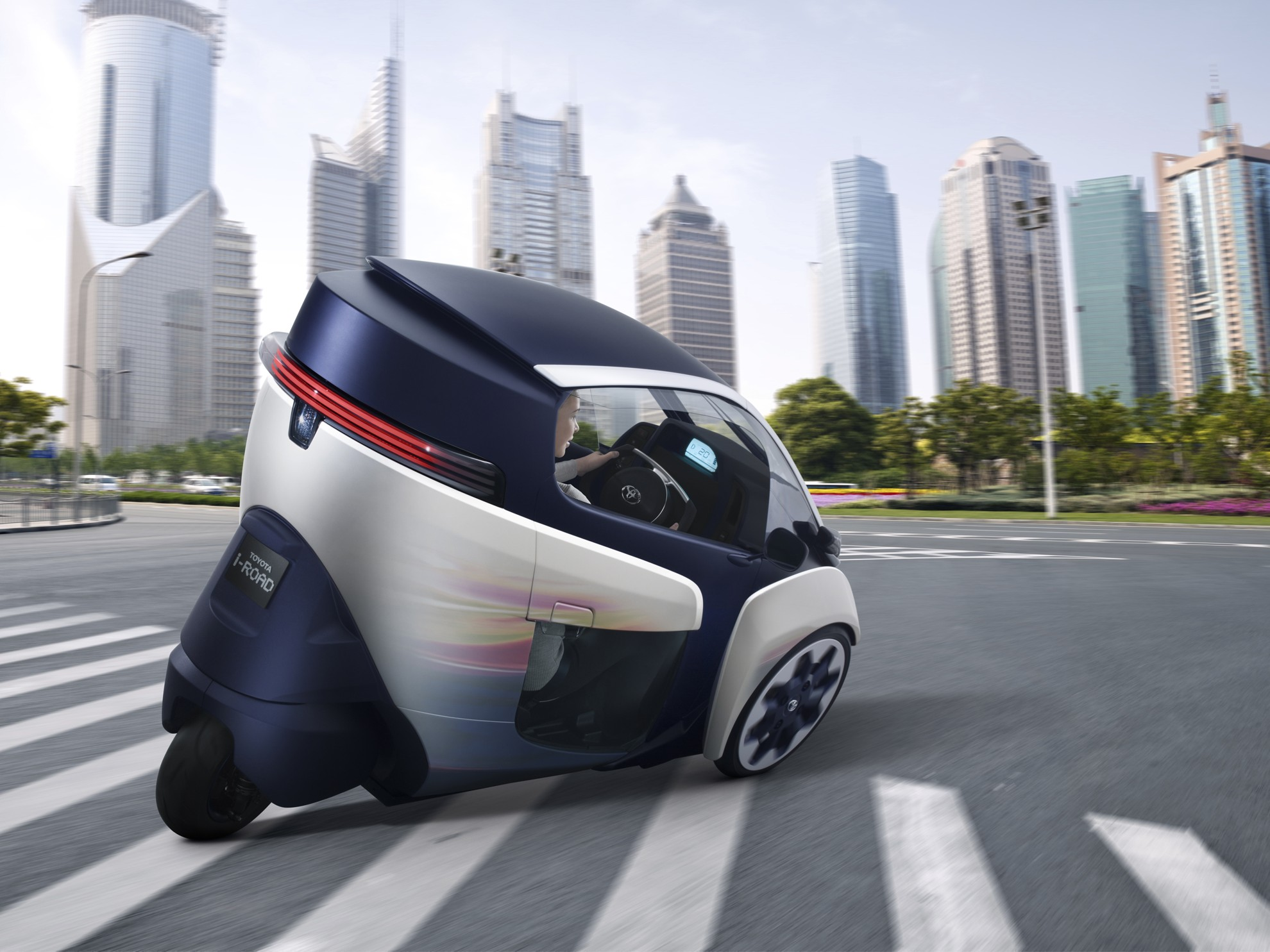 Toyota I-Road Concept city