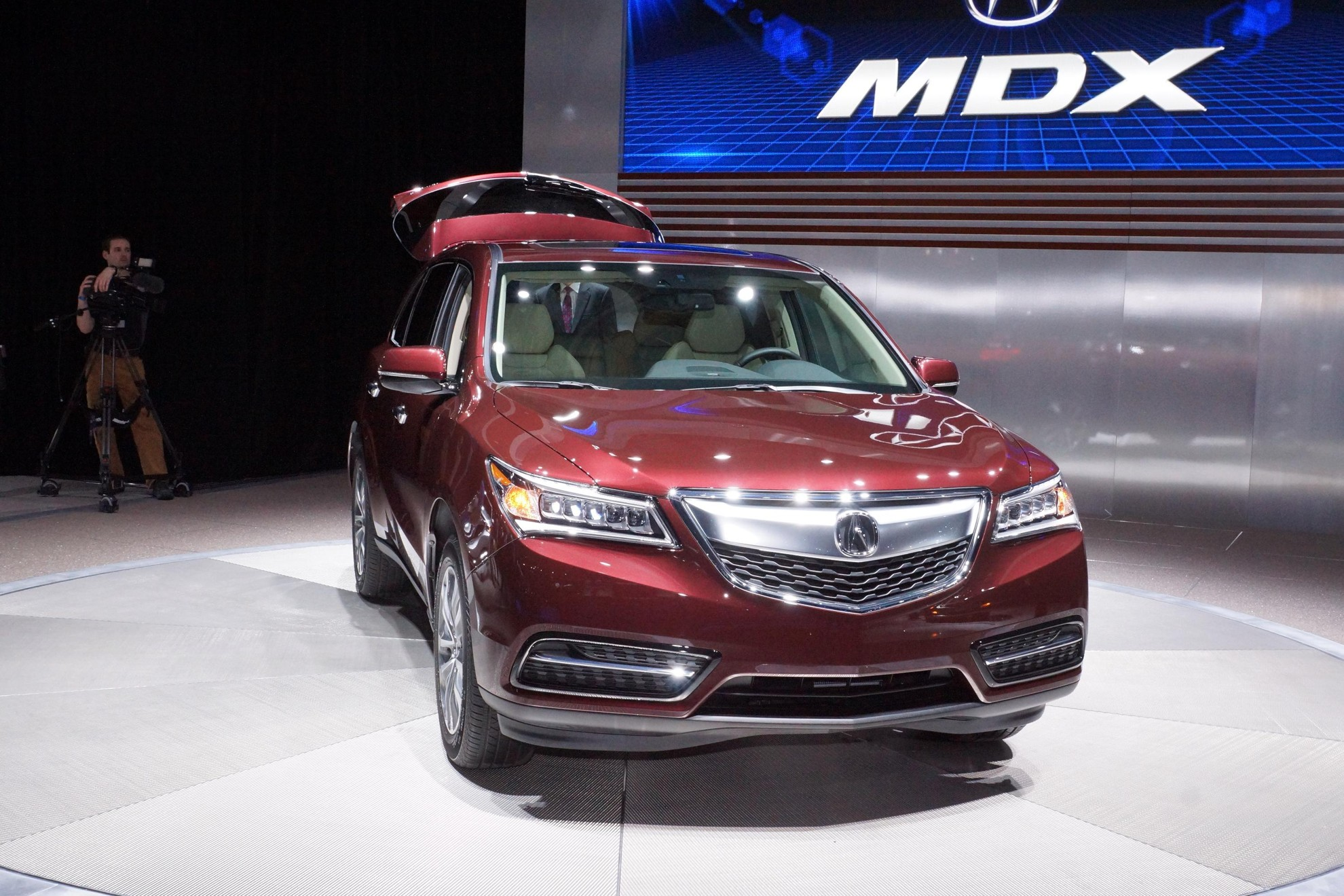 Acura MDX at the New York Auto Show