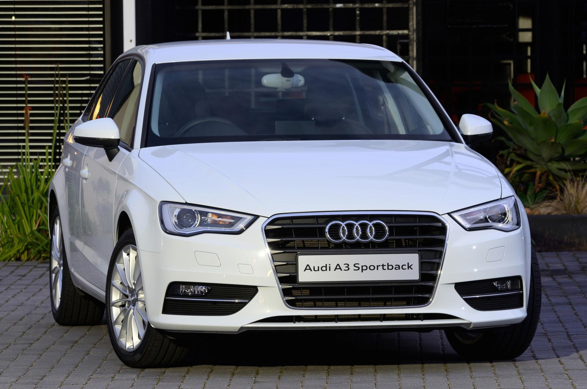 White Audi A3 2013 - South Africa