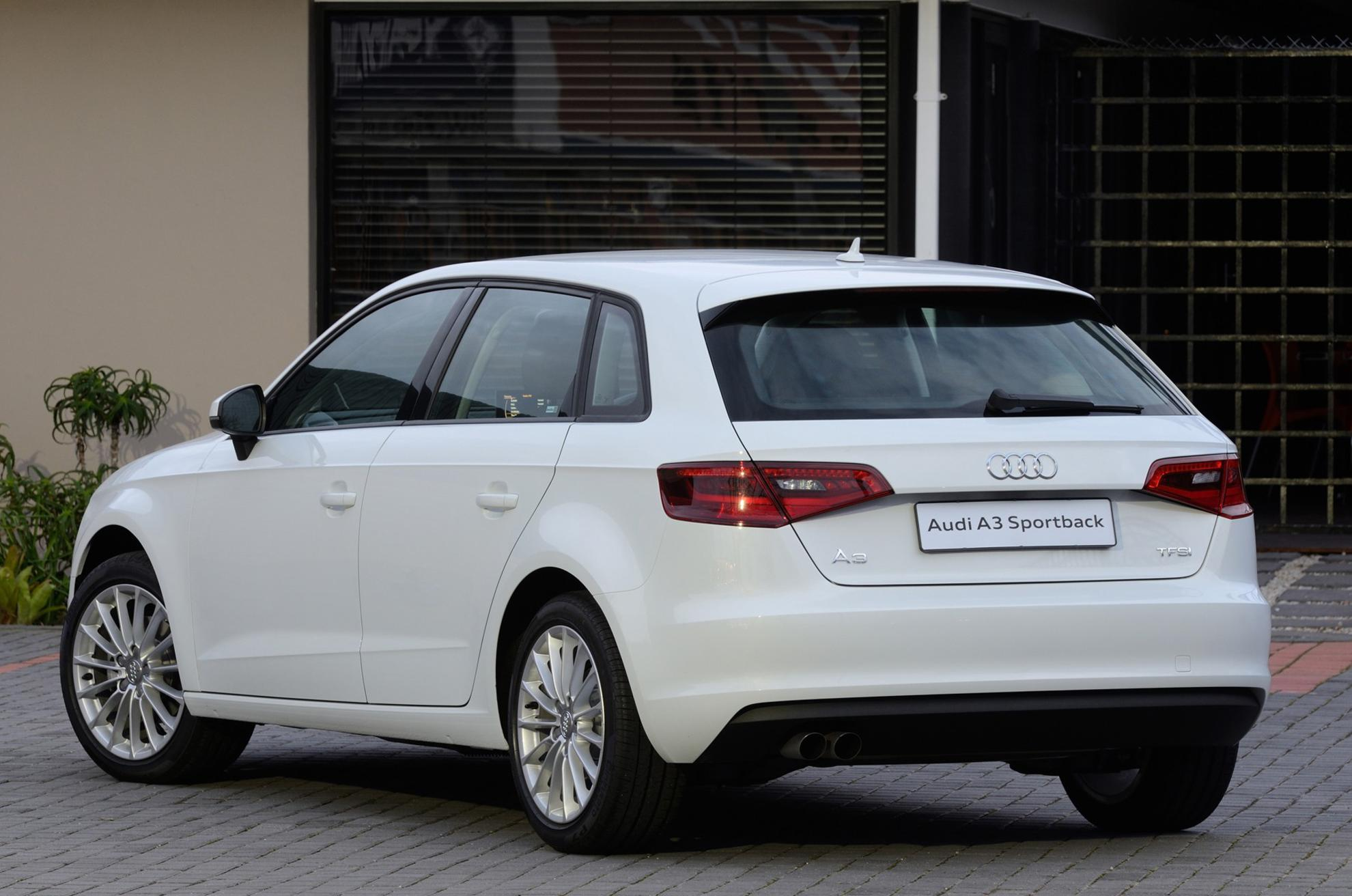 3d Car Shows White Audi A3