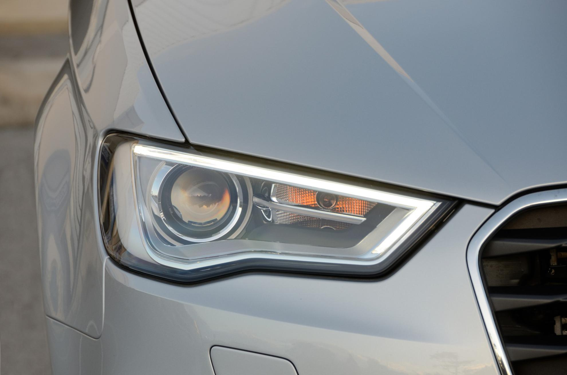 white audi a3 2013 front lights   3d car shows
