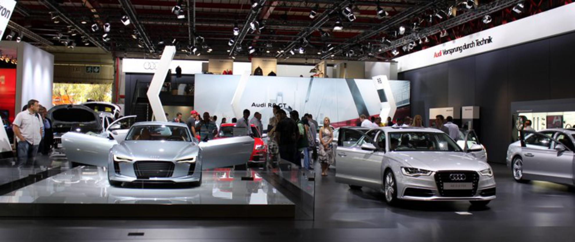 Audi Stand at the Johannesburg Motor Show 2011