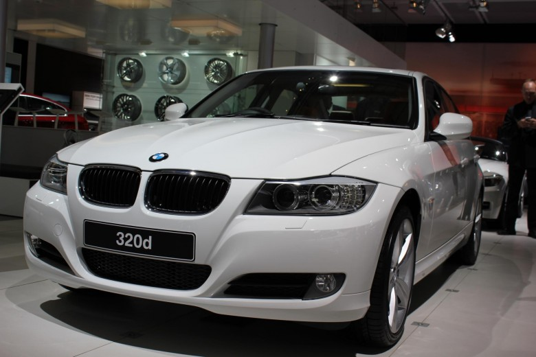 BMW 320d at the Johannesburg Motor Show 2011