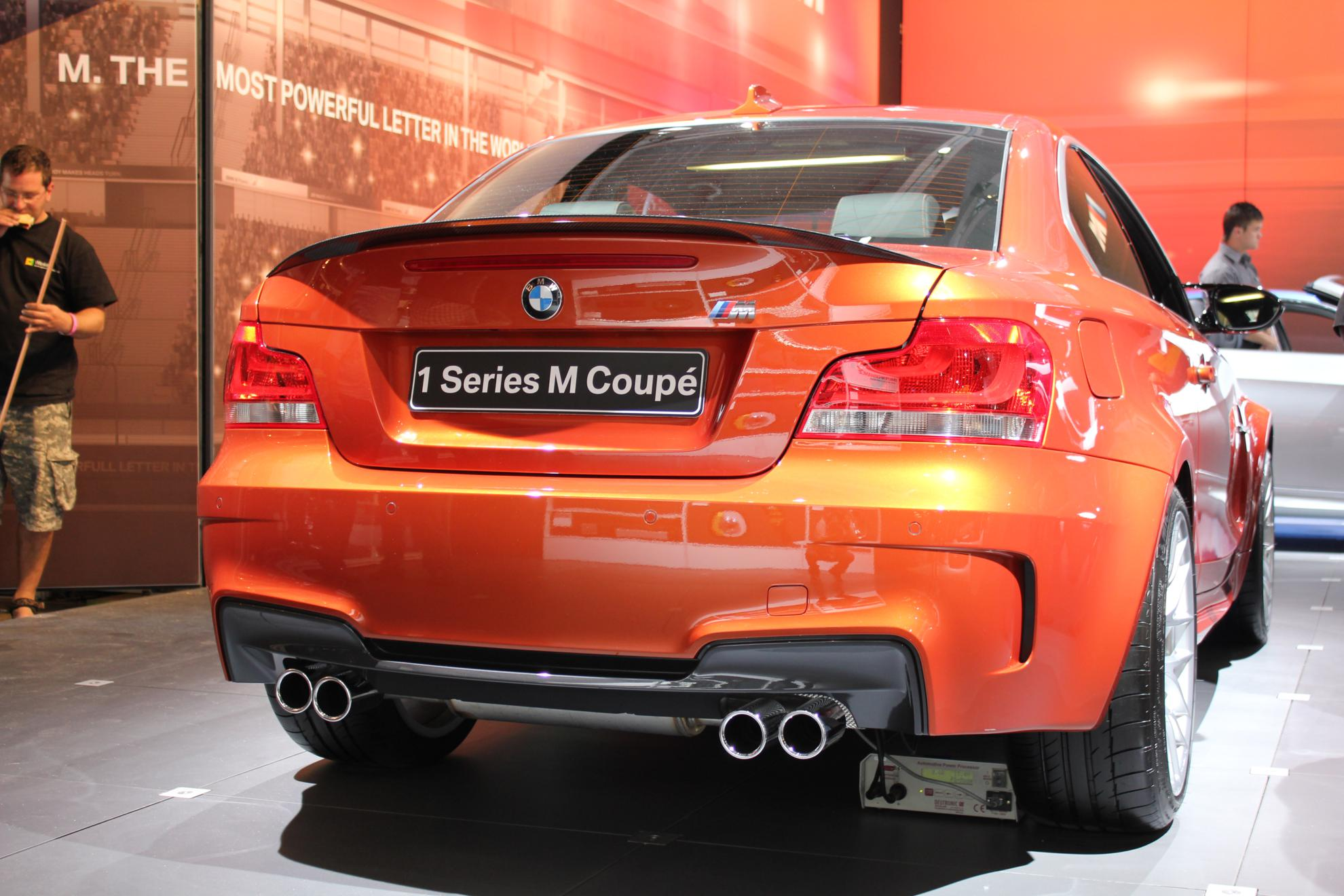 BMW 1 Series M Coupe - JIMS 2011