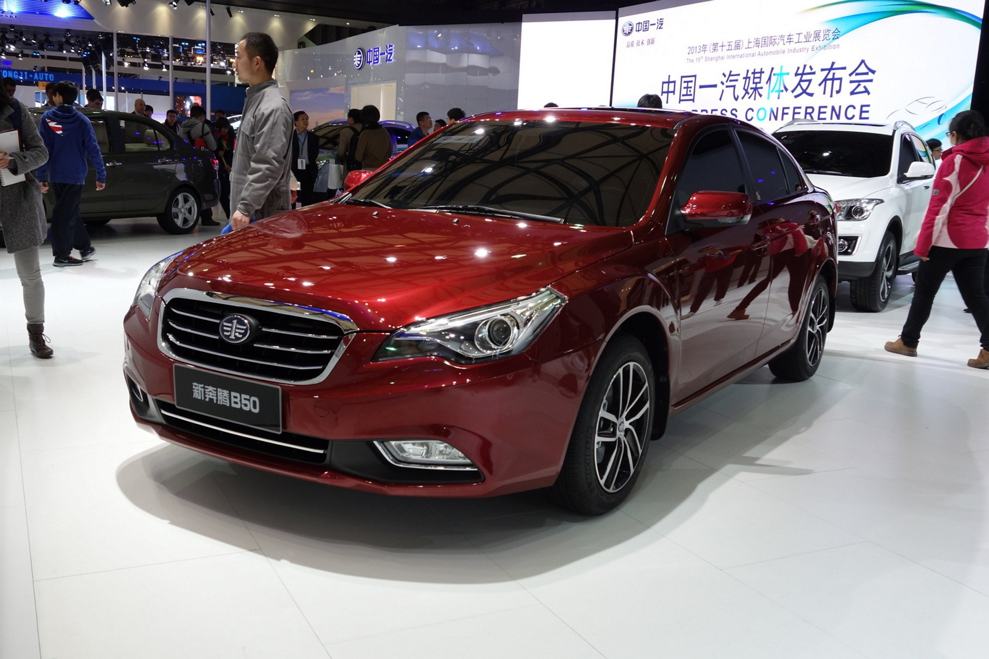 Images Besturn At The Shanghai Auto Show 2013