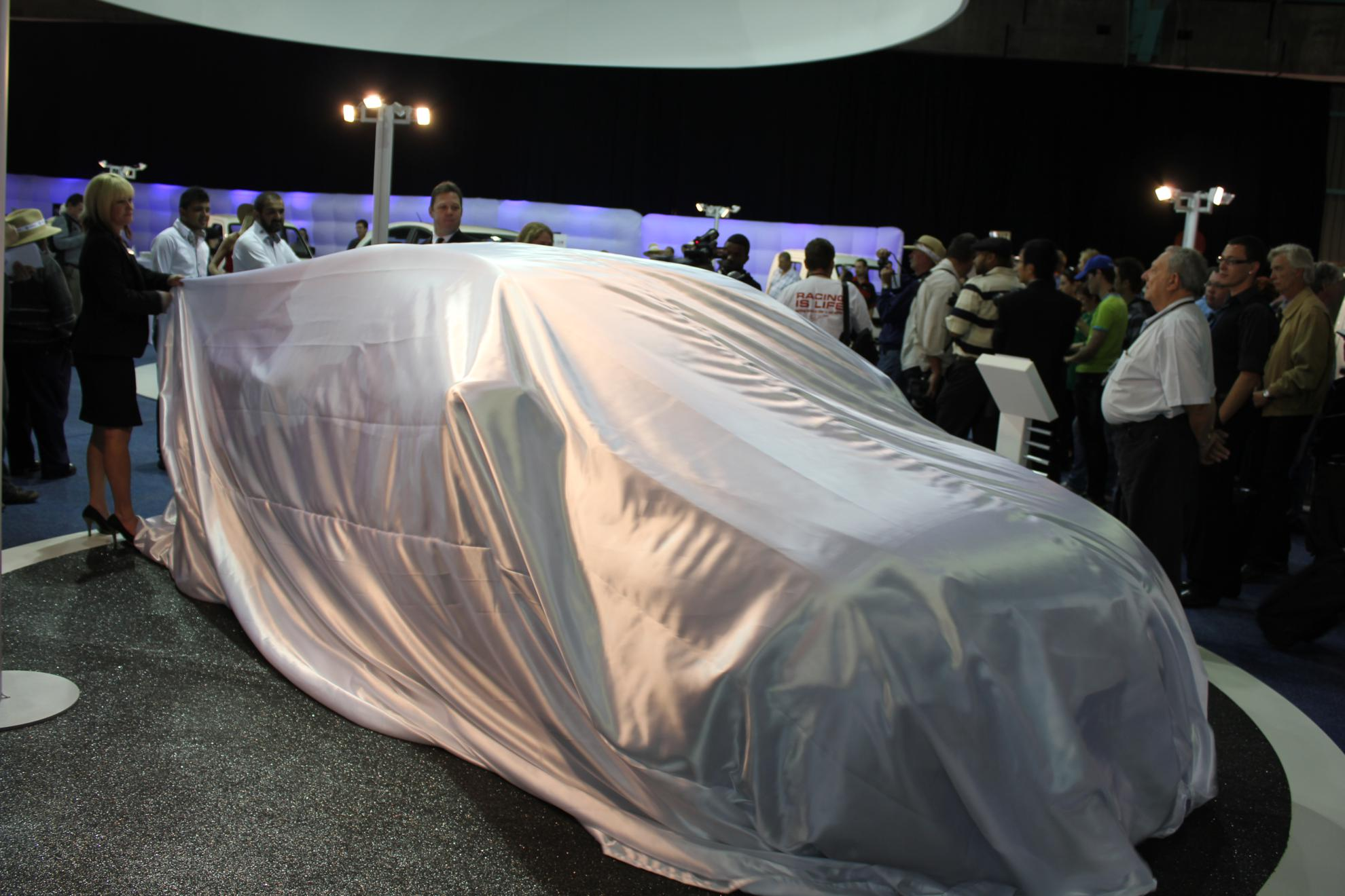 Changan Alsvin Unveiling JIMS 2011