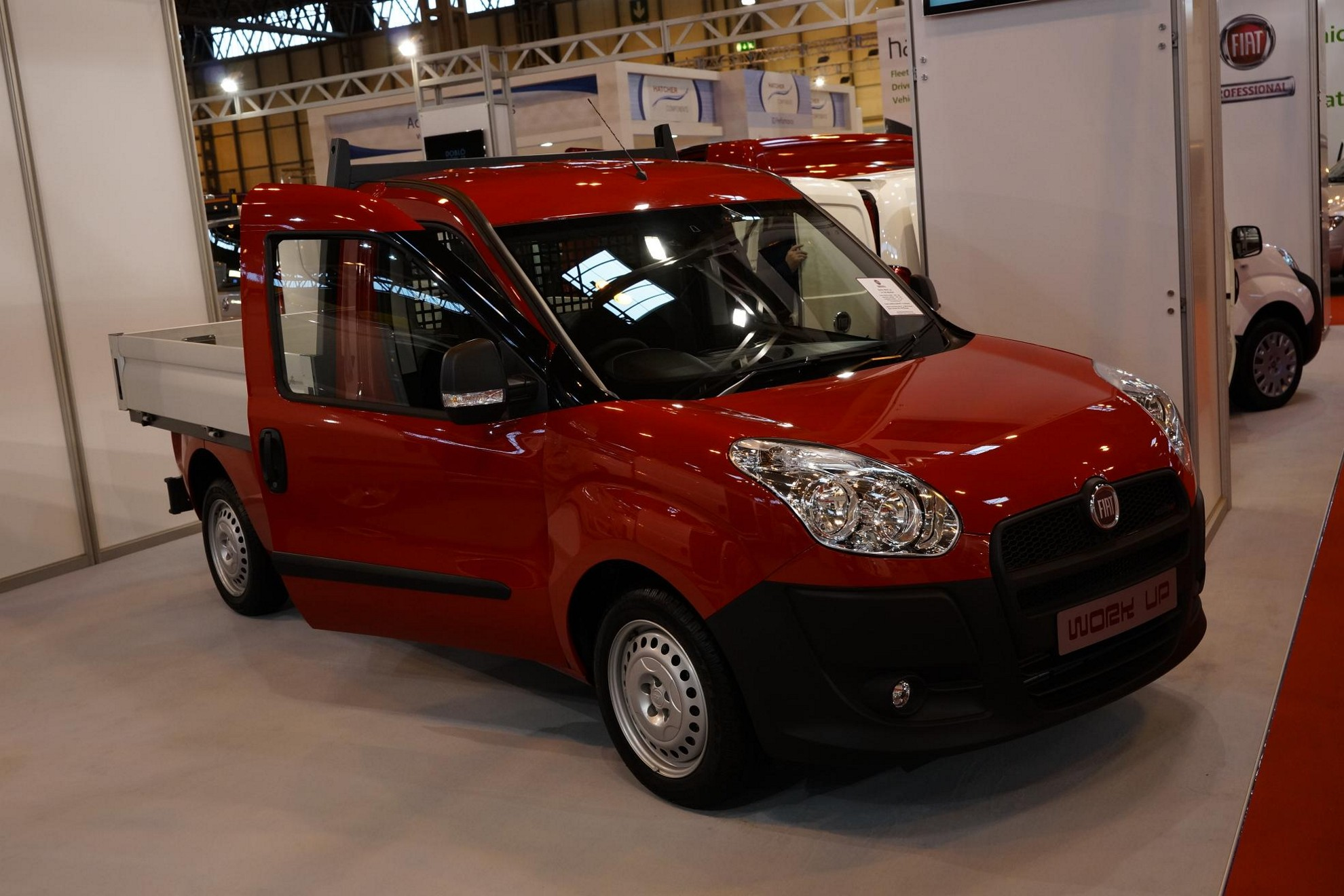images  fiat commercial vehicles at the cv show 2013