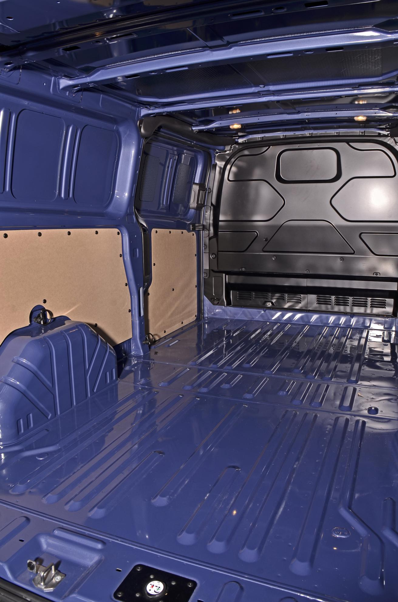 Ford Transit Inside Space