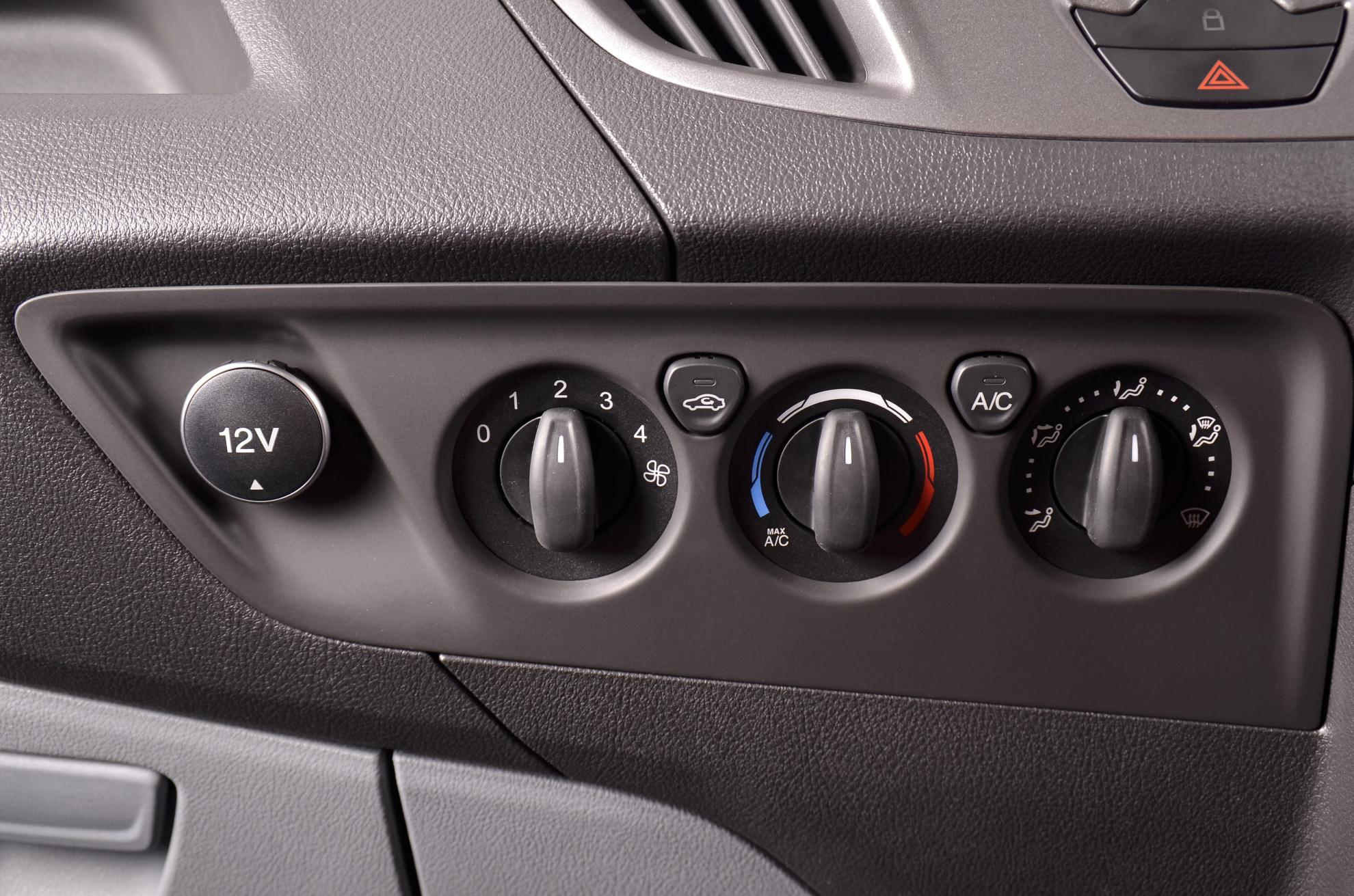Ford Transit Dashboard Controls