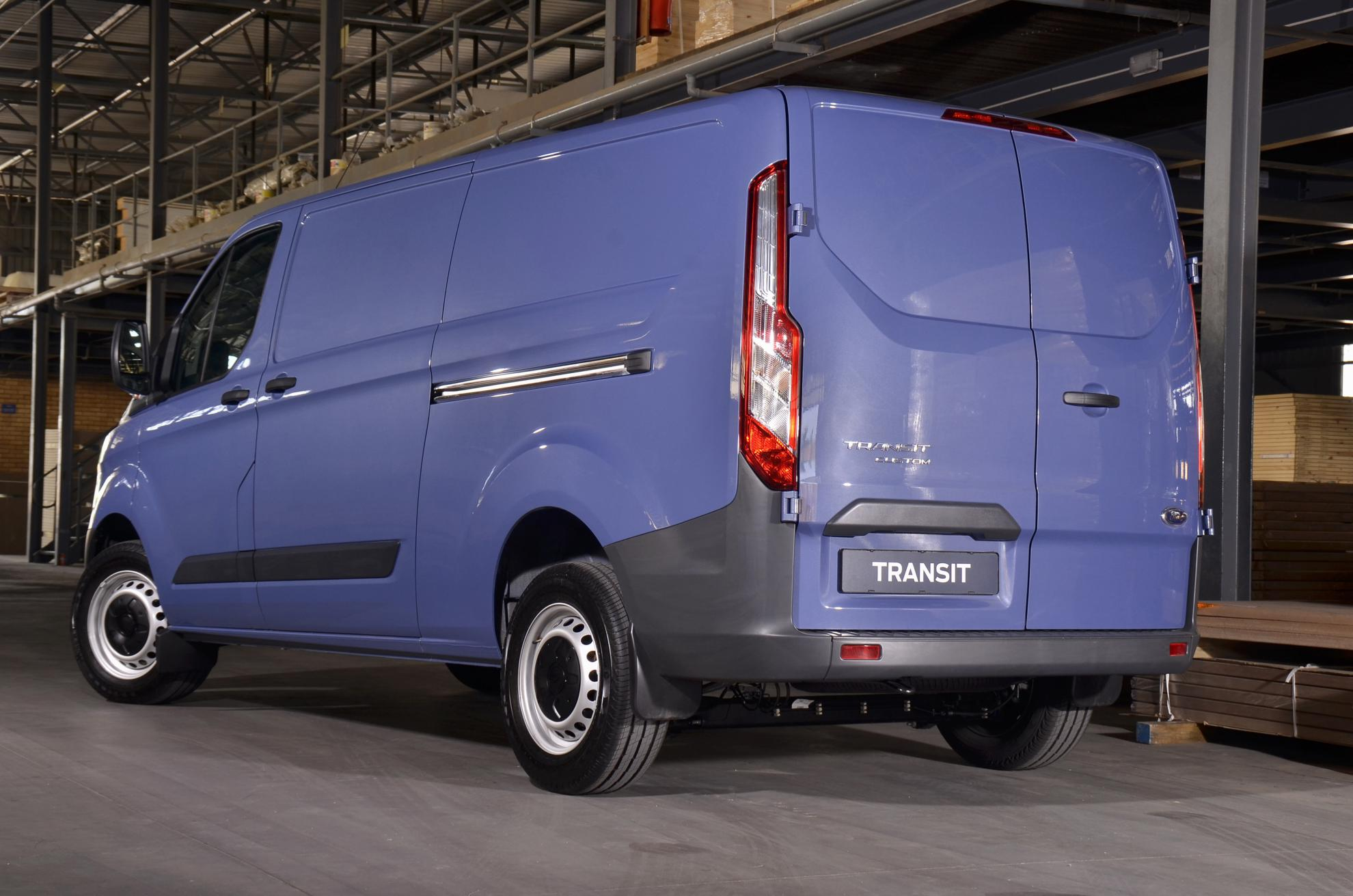 Ford Transit Van Rear 2013