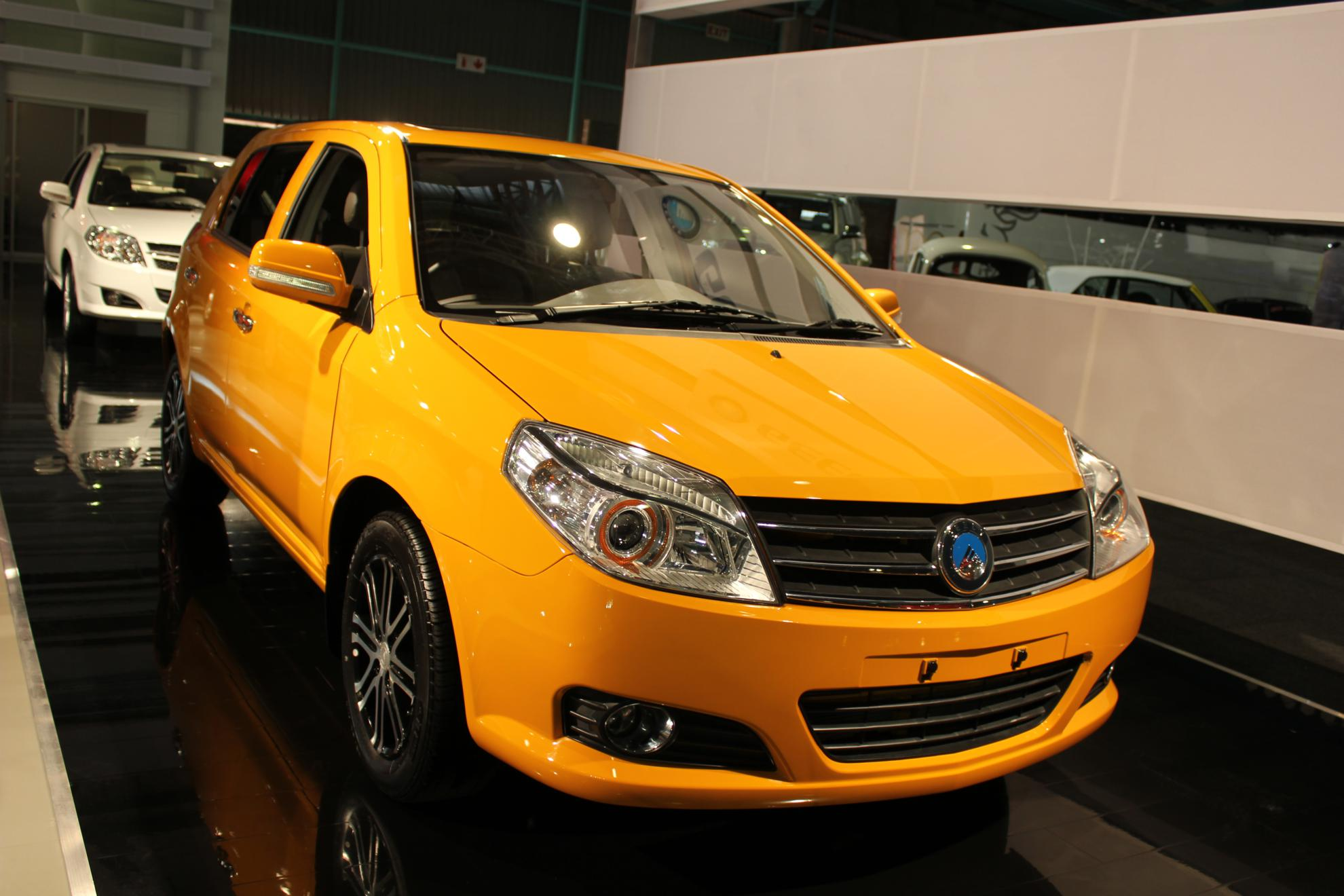 Geely at the Johannesburg Motor Show 2011