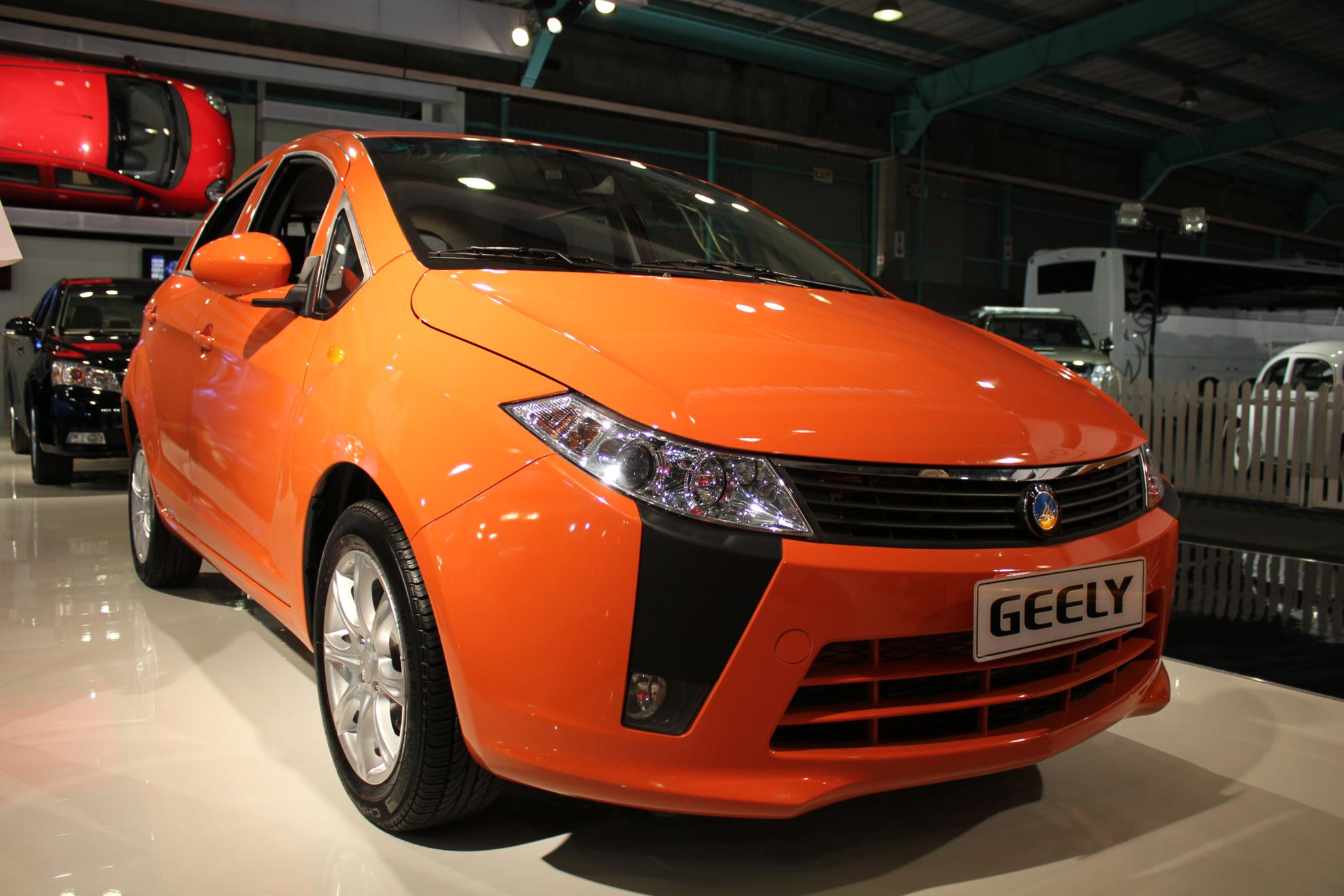 Geely at the Johannesburg Motor Show
