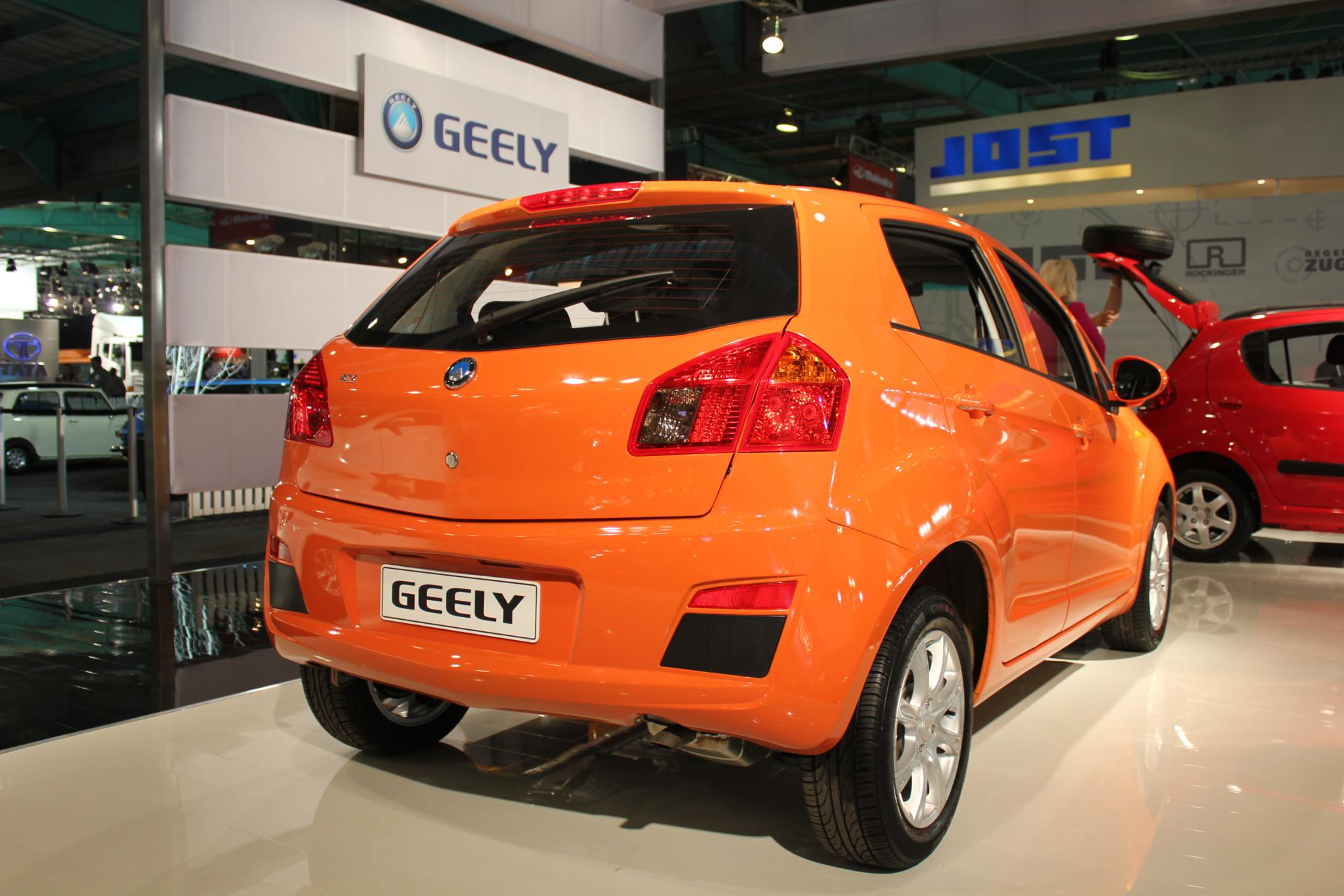 Geely at the Car Show