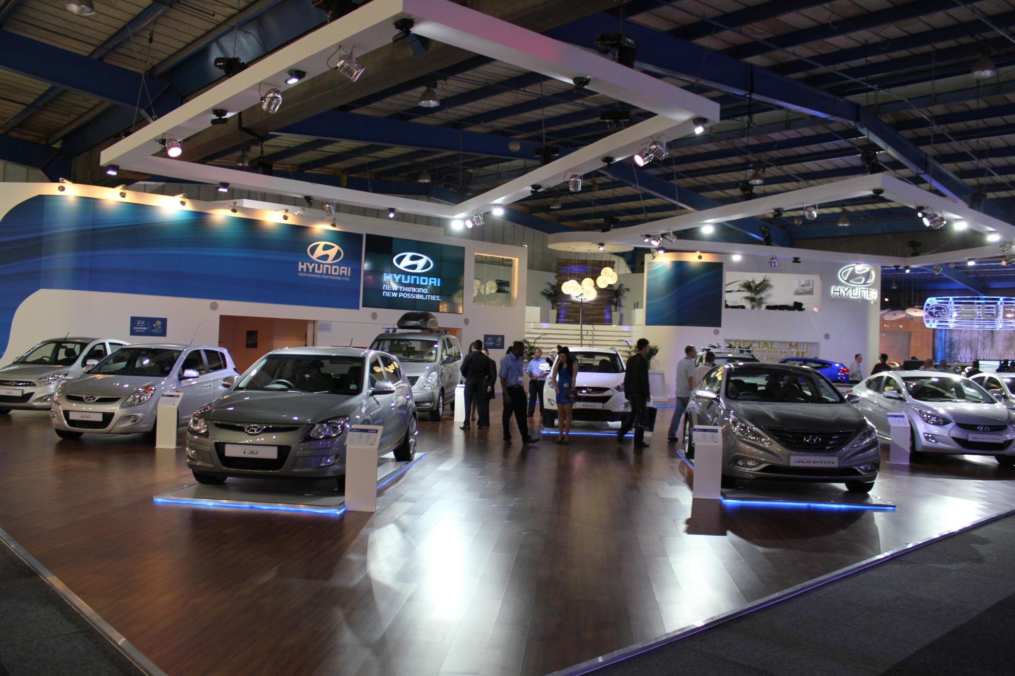 Images Hyundai At The Johannesburg Motor Show - Hyundai car show