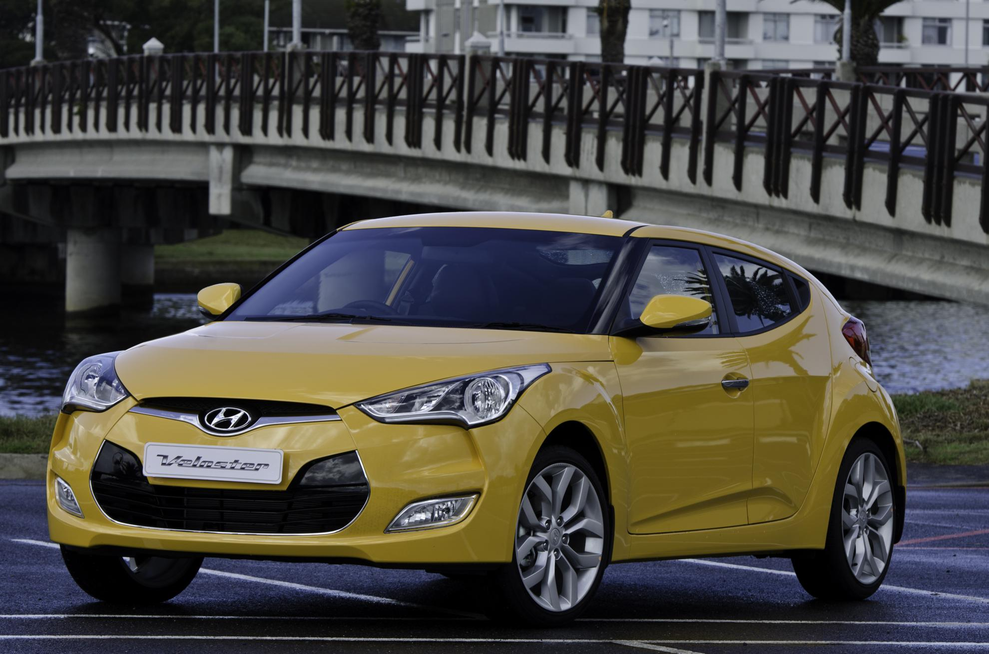Front View Hyundai Veloster
