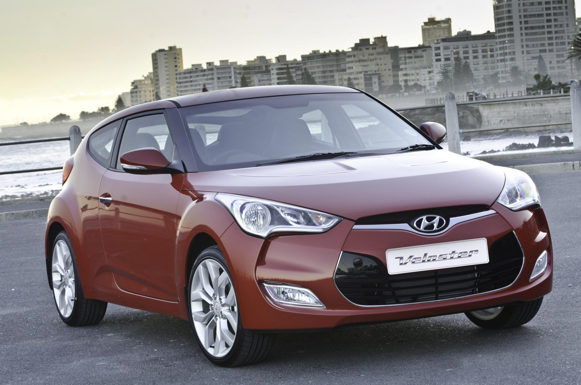 Red Hyundai Veloster South Africa