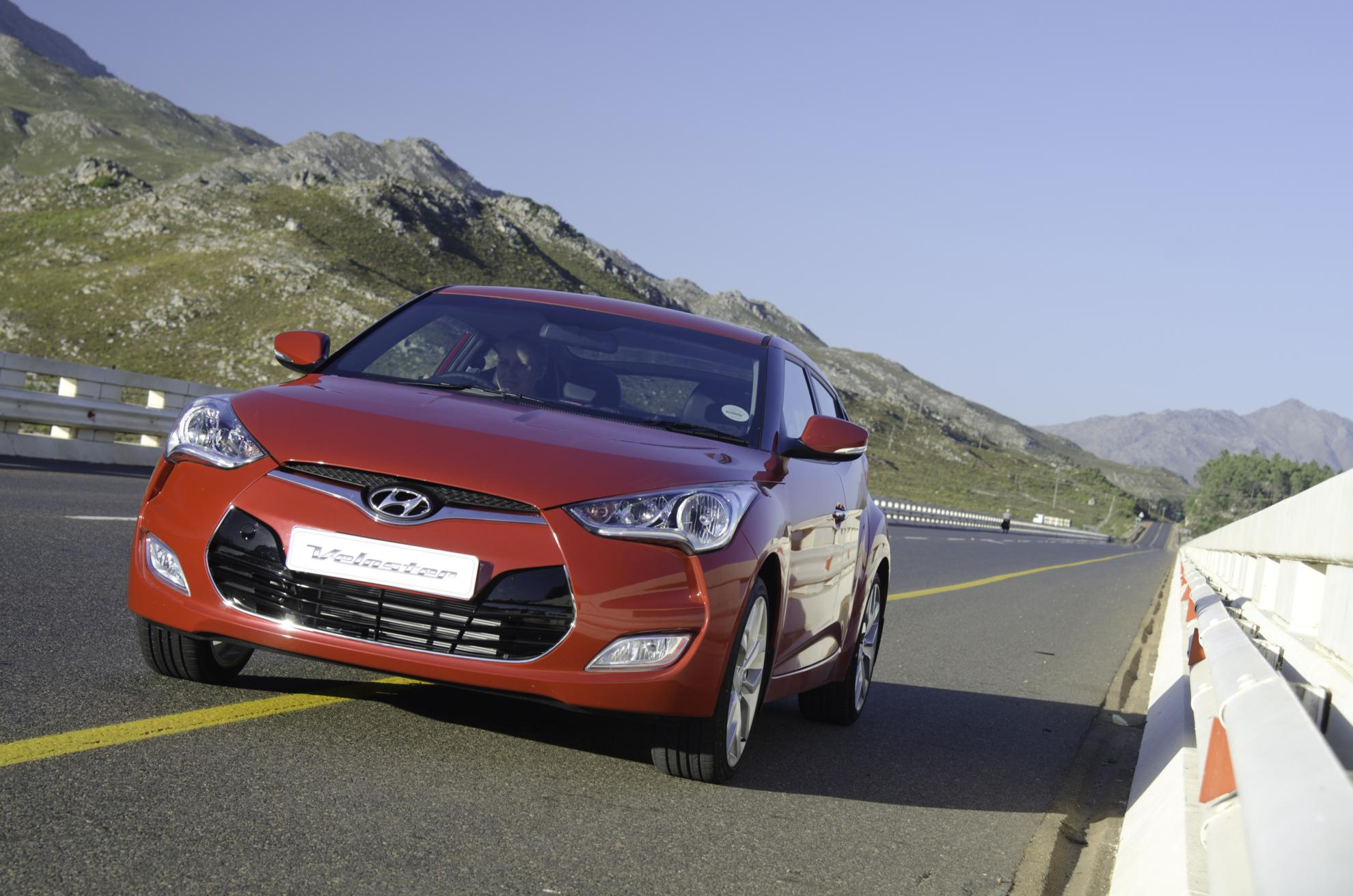 Red Veloster 2013
