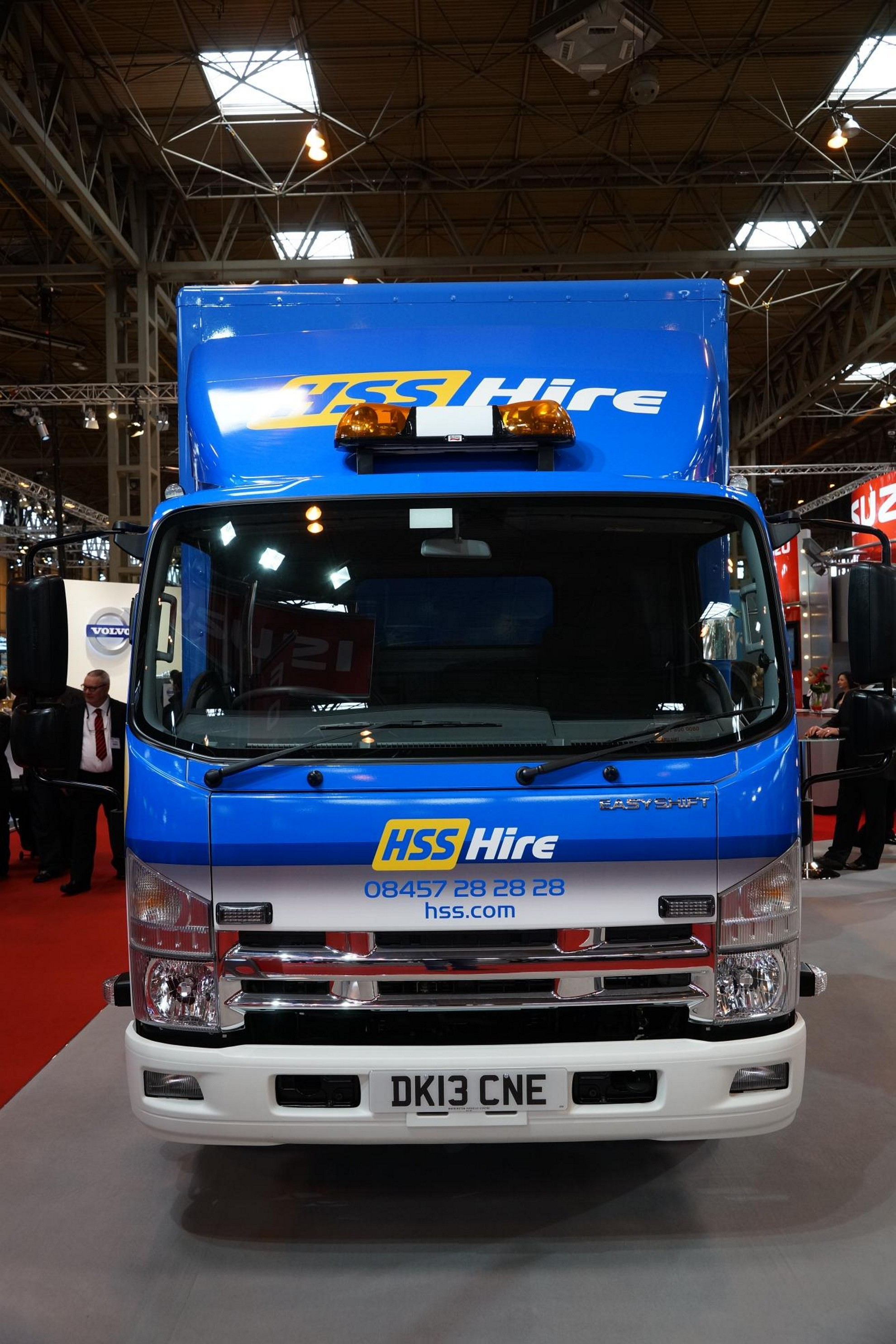 images  isuzu at the commercial vehicle show