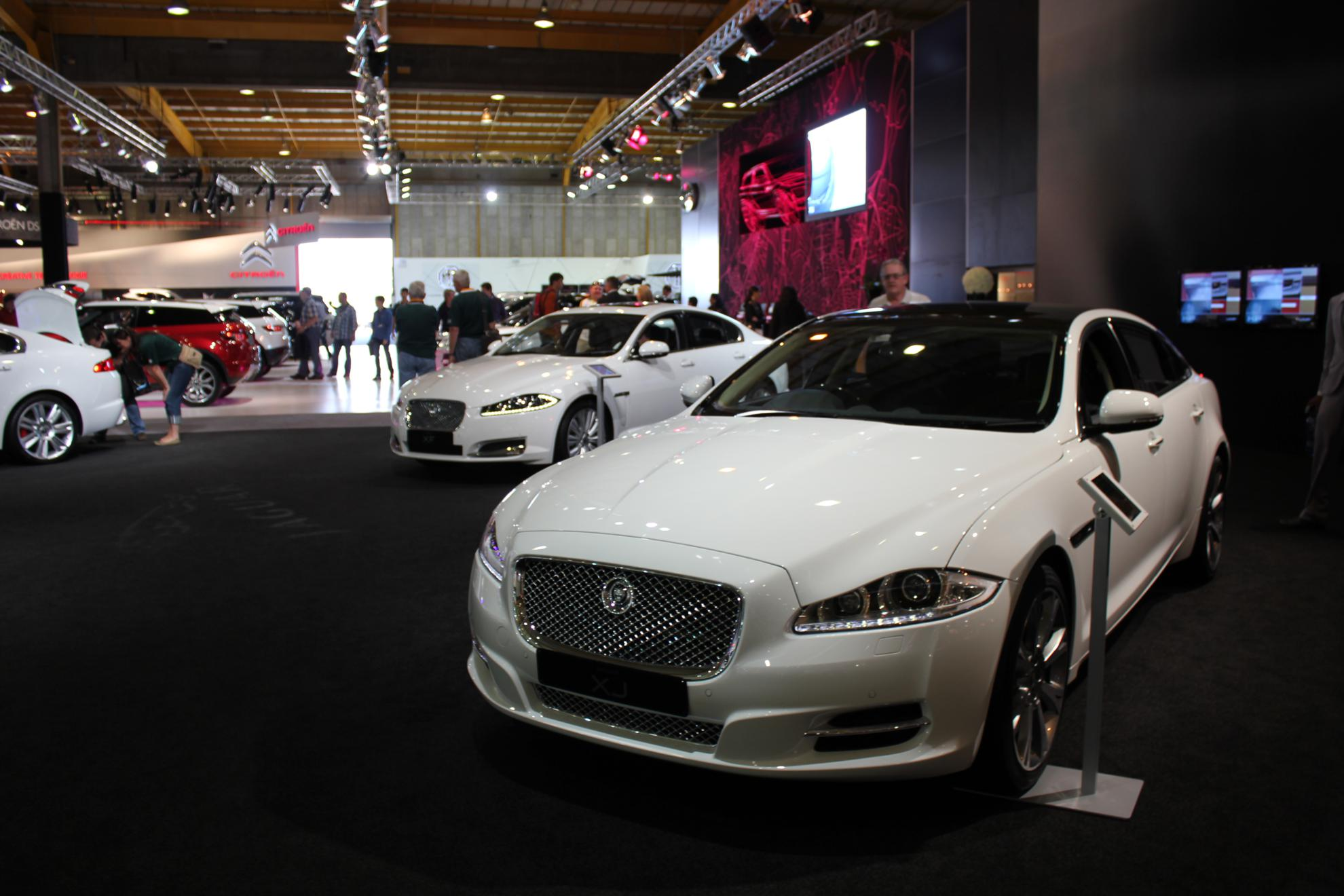 Jaguar at the Johannesburg Motor Show 2011