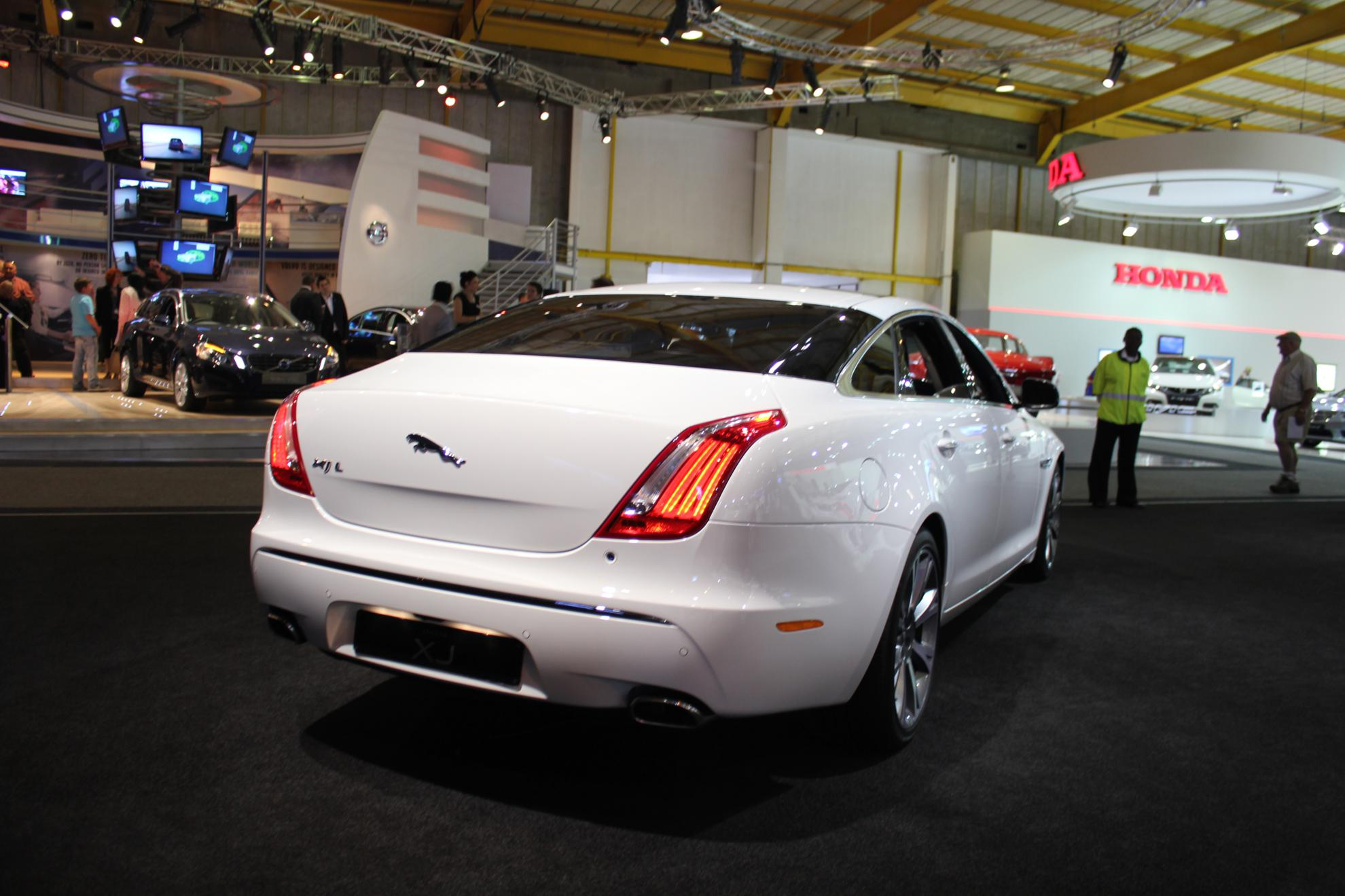 Jaguar XJ L at the Johannesburg Motor Show