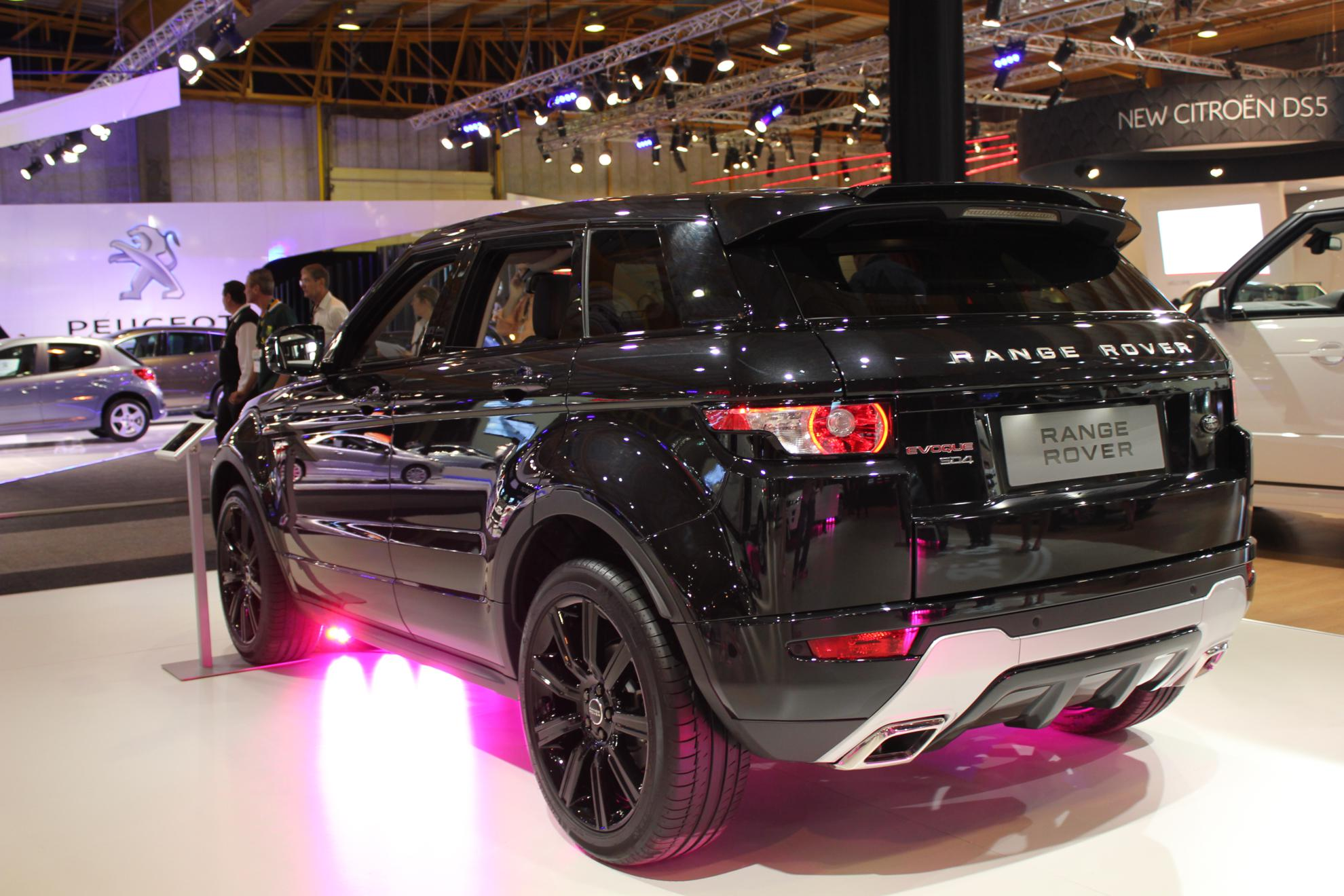 Range Rover Evoque 2011 - Black