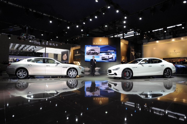 Maserati Ghibli premiere at the Shanghai Motor Show
