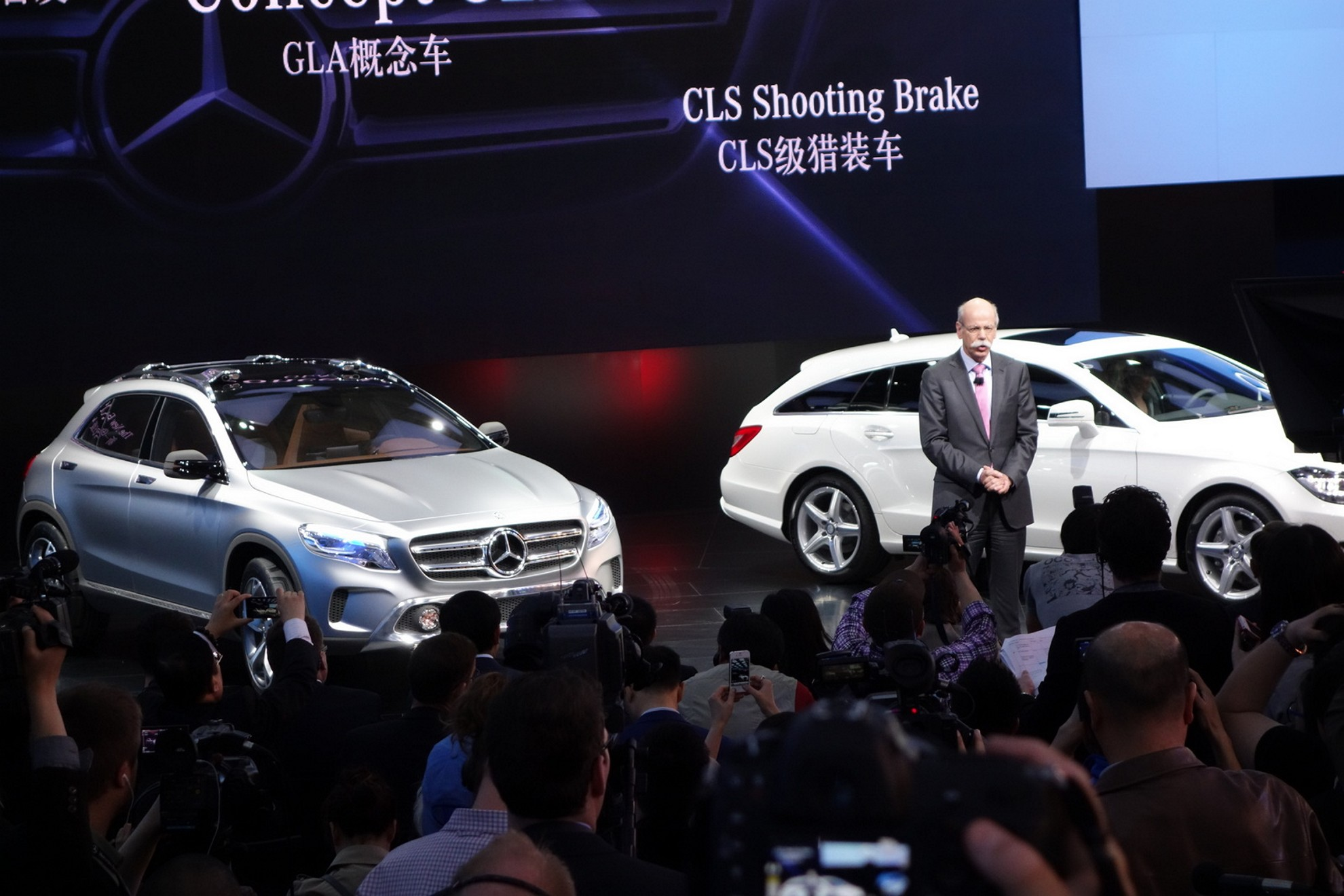 Mercedes-Benz Concept GLA and CLS Shooting Brake