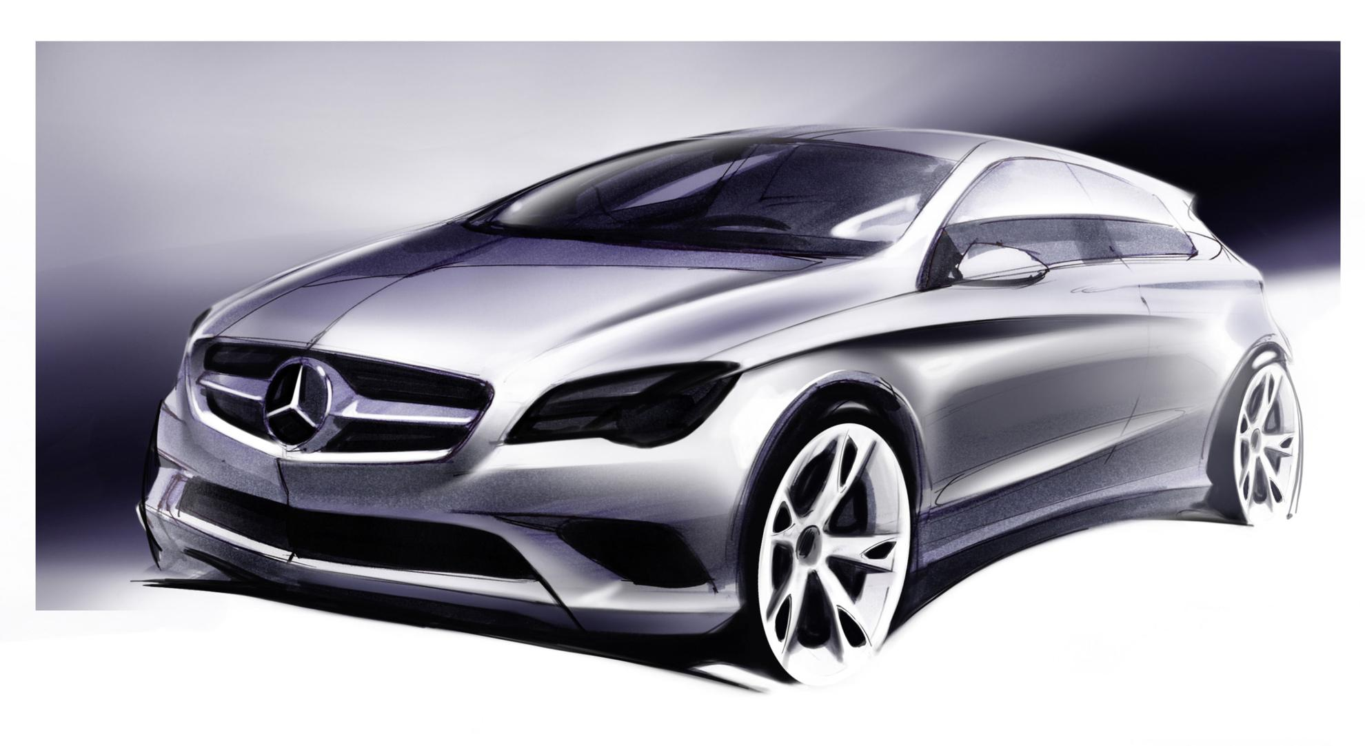 Designing Of The New Mercedes Benz A Class 3d Car Shows