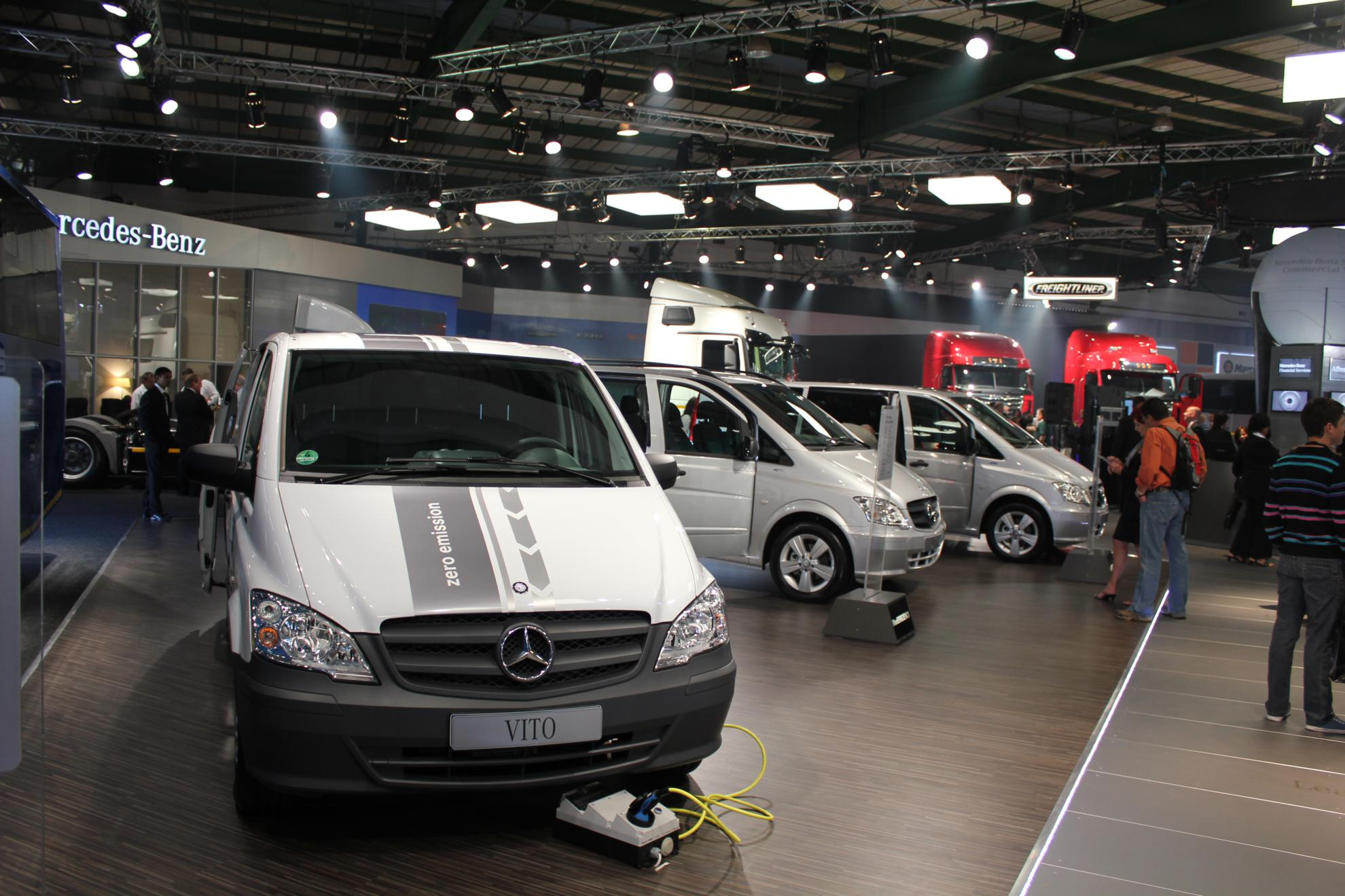 Mercedes-Benz Images Vito Electrical Vehicle