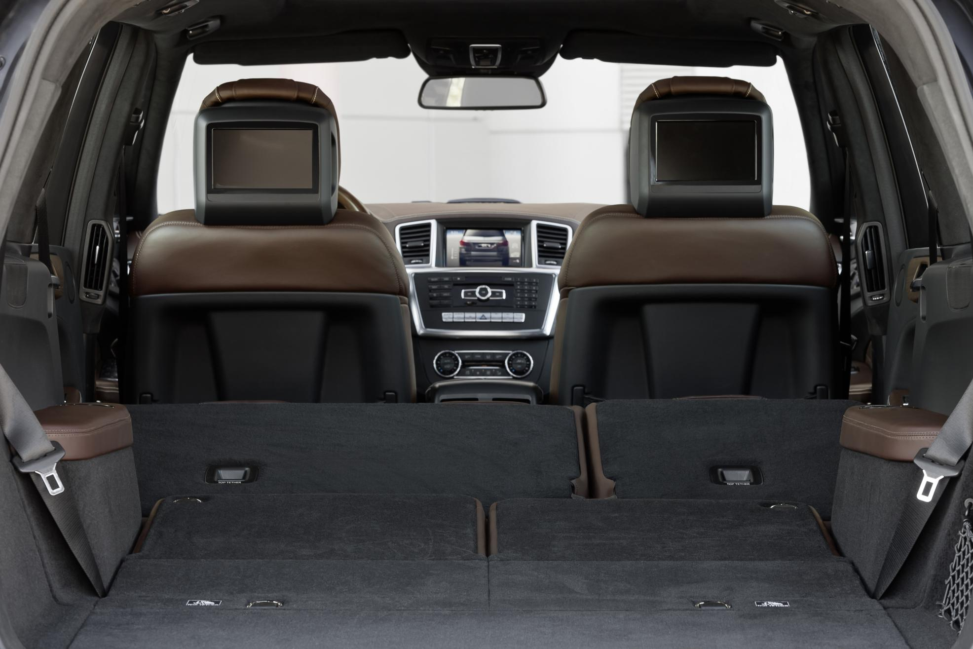 Mercedes-Benz GL Boot Space