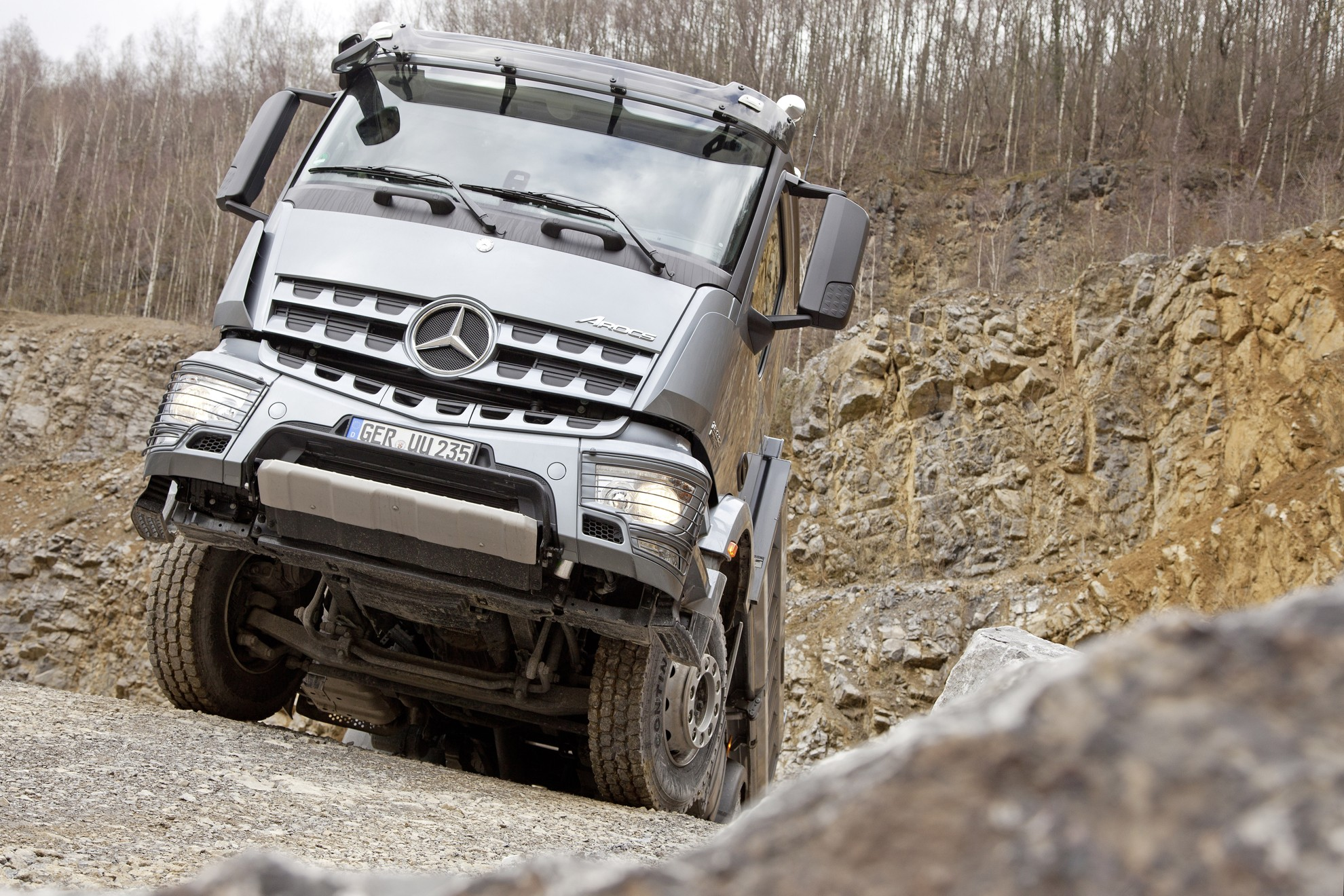 Mercedes-Benz Arocs Trucks Test Drive